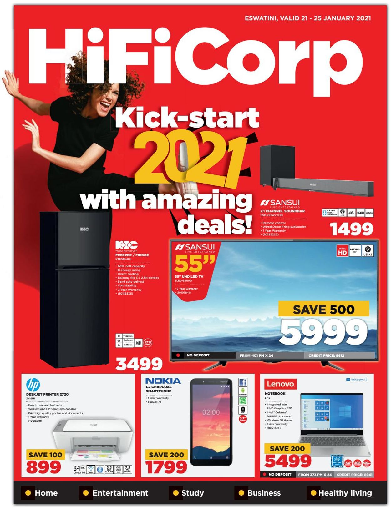 HiFi Corp Catalogue - 2021/01/21-2021/01/25