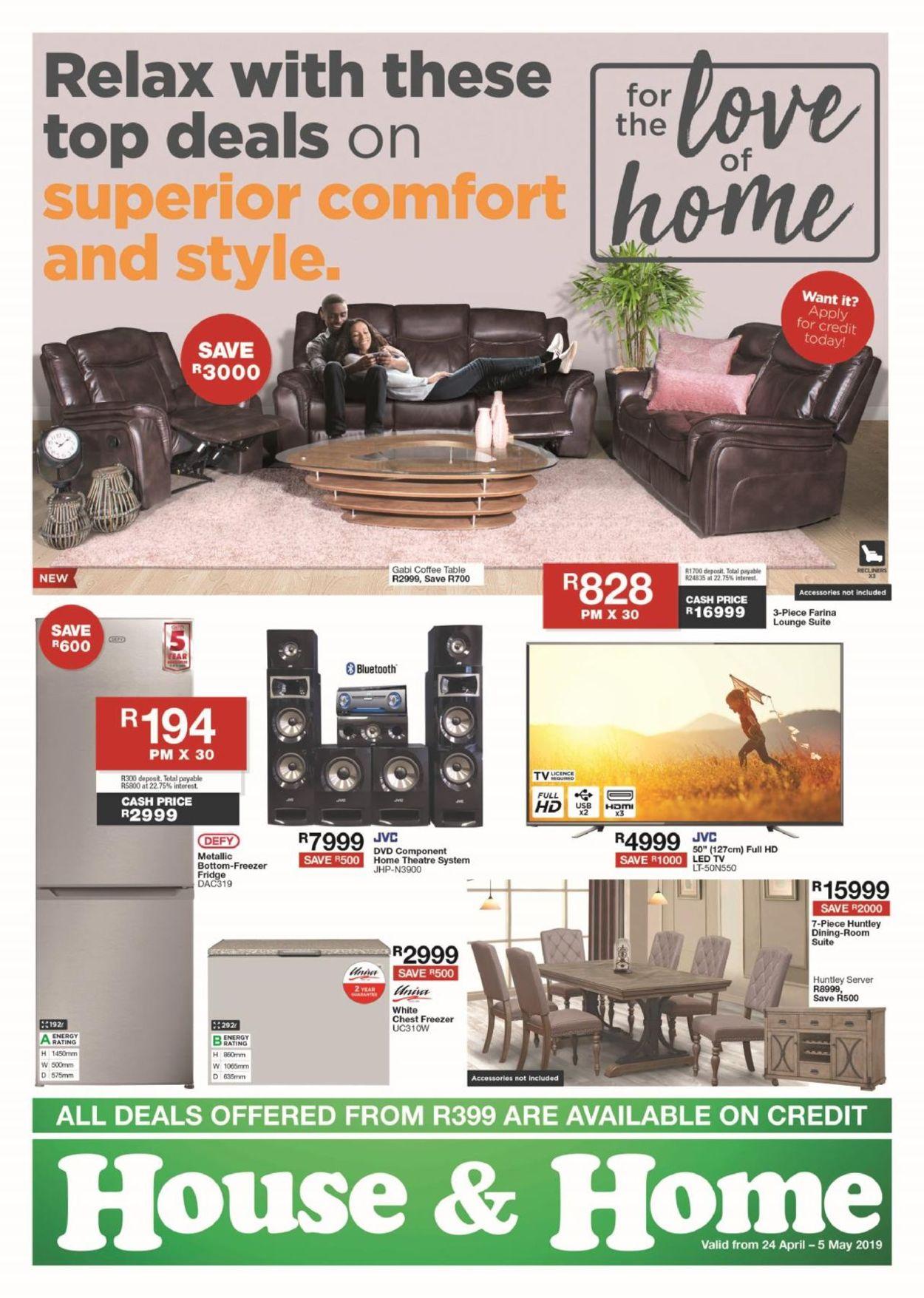 House & Home Catalogue - 2019/04/24-2019/05/05