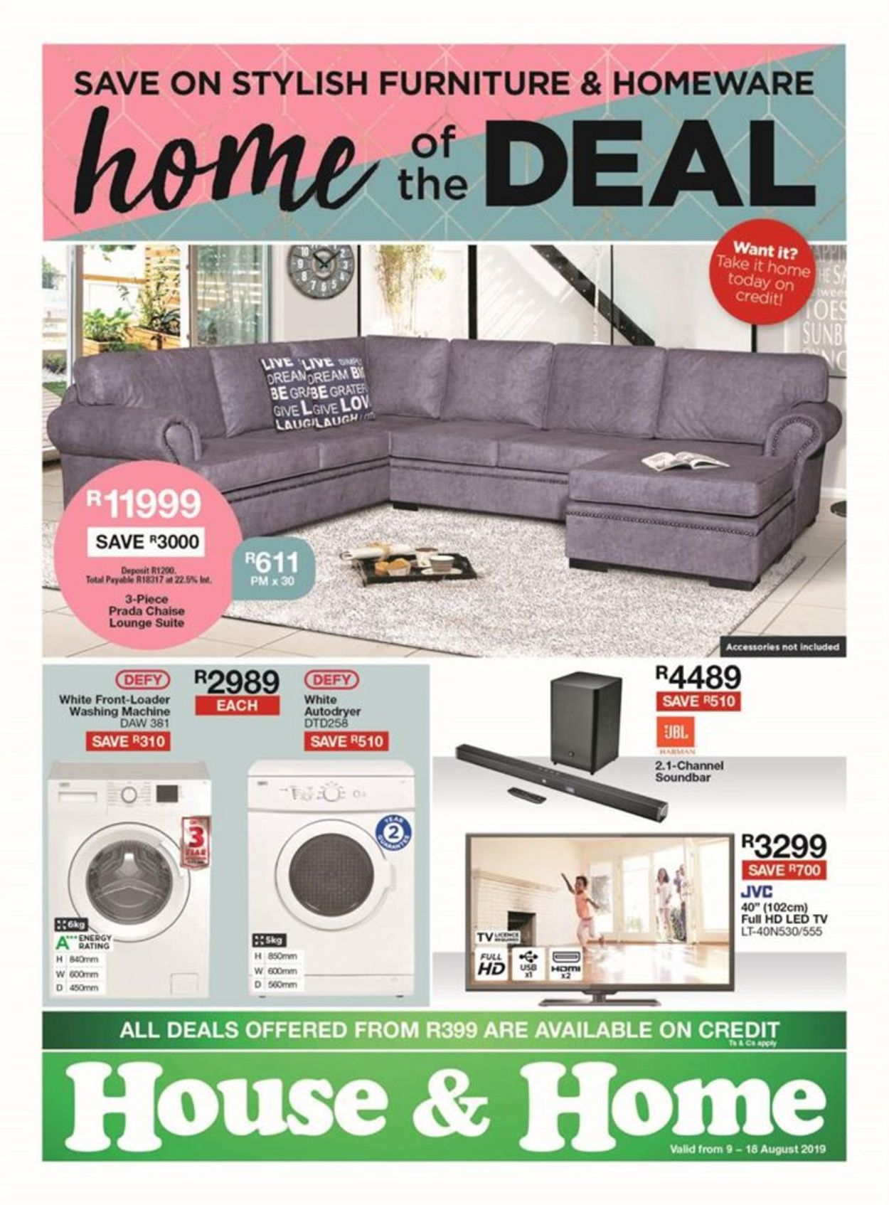 House & Home Catalogue - 2019/08/12-2019/08/18
