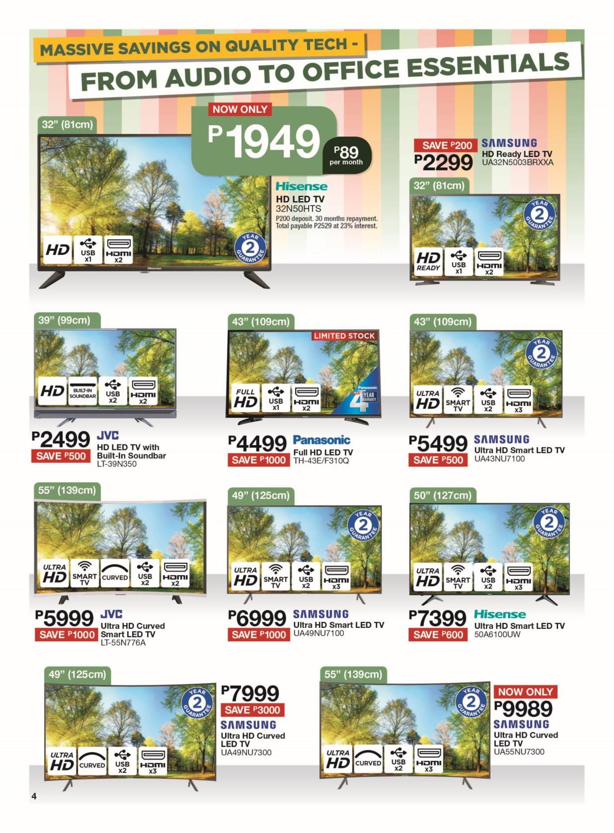House & Home Catalogue - 2019/09/24-2019/10/06 (Page 4)