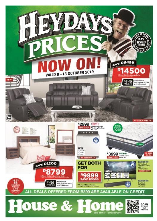 House & Home Catalogue - 2019/10/08-2019/10/13