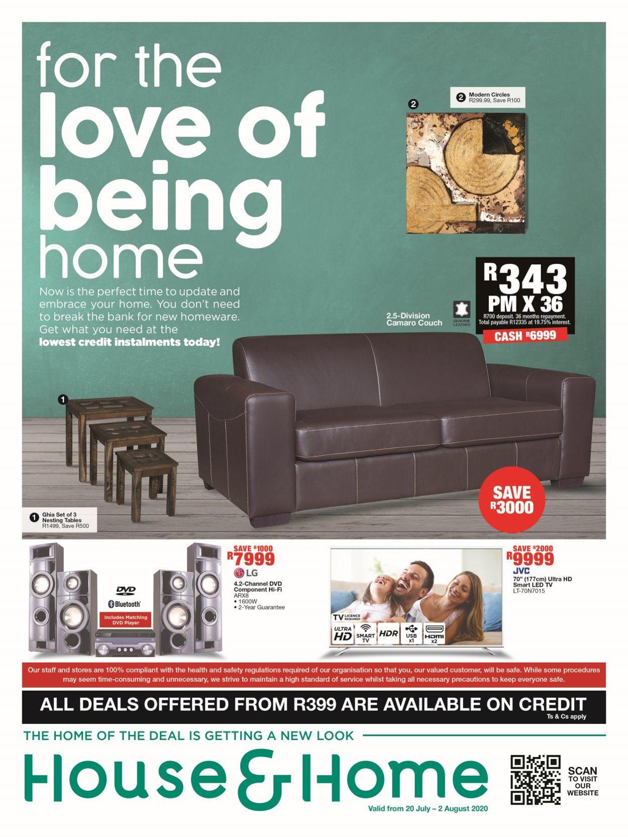 House & Home Catalogue - 2020/07/20-2020/08/02