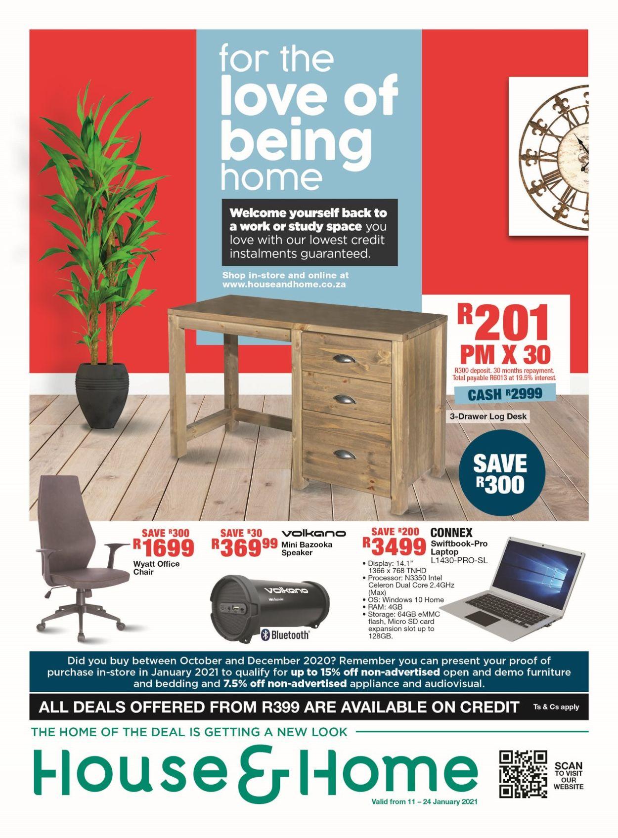 House & Home Catalogue - 2021/01/11-2021/01/24