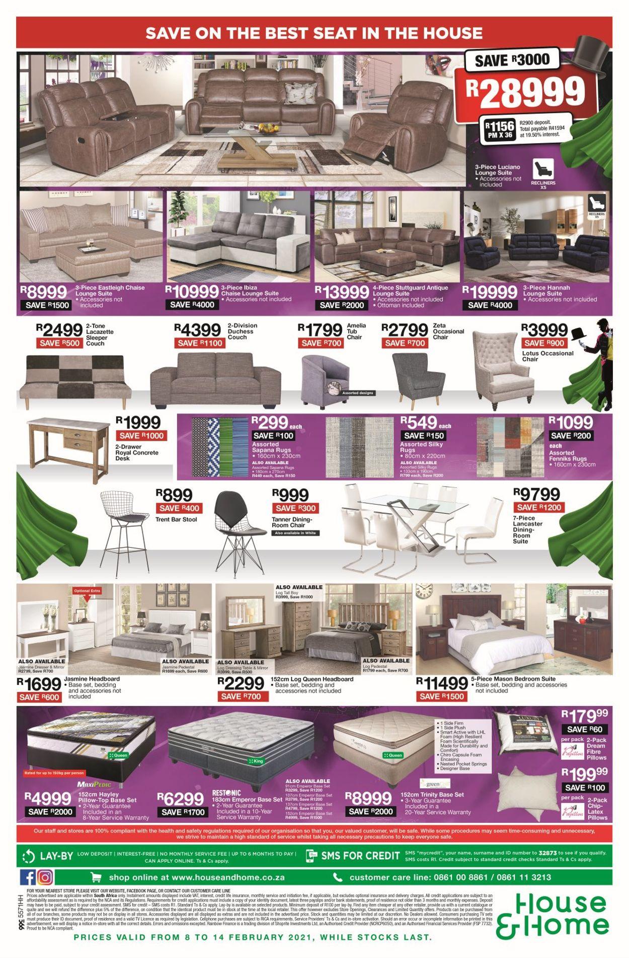 House & Home Catalogue - 2021/02/08-2021/02/14 (Page 4)