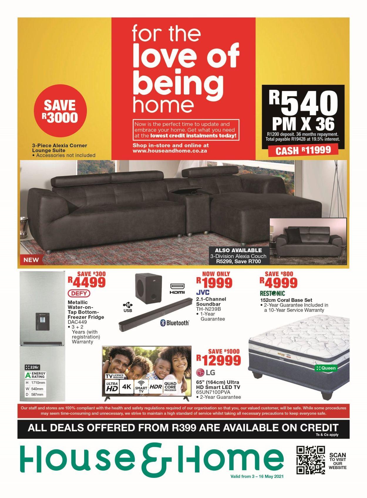 House & Home Catalogue - 2021/05/03-2021/05/16