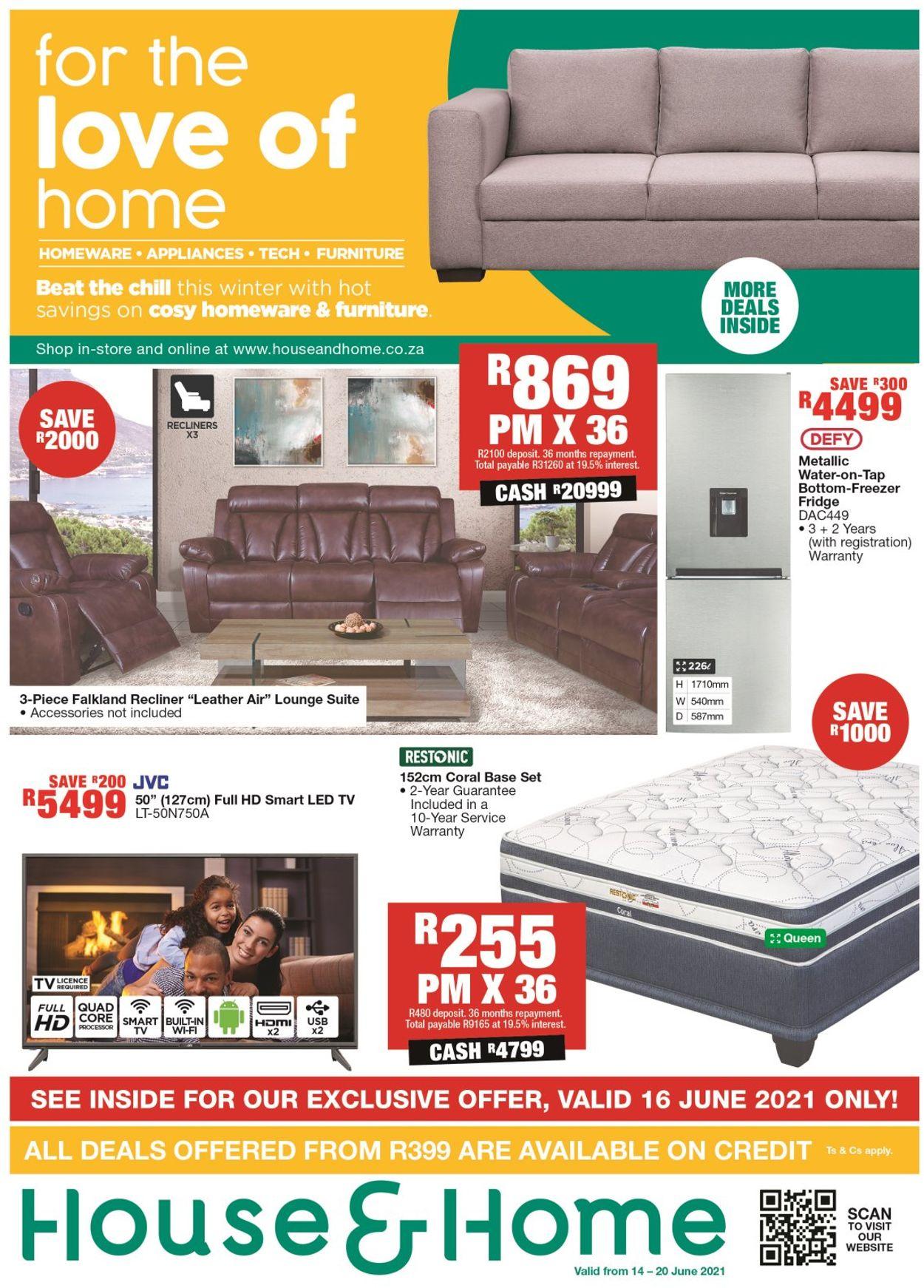 House & Home Catalogue - 2021/06/14-2021/06/20