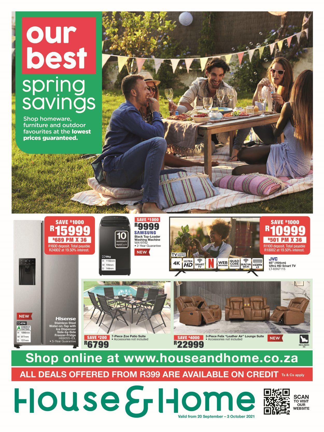 House & Home Catalogue - 2021/09/20-2021/10/03