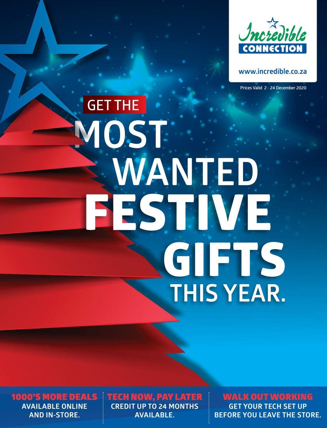 Incredible Connection Christmas 2020 Catalogue - 2020/12/02-2020/12/24