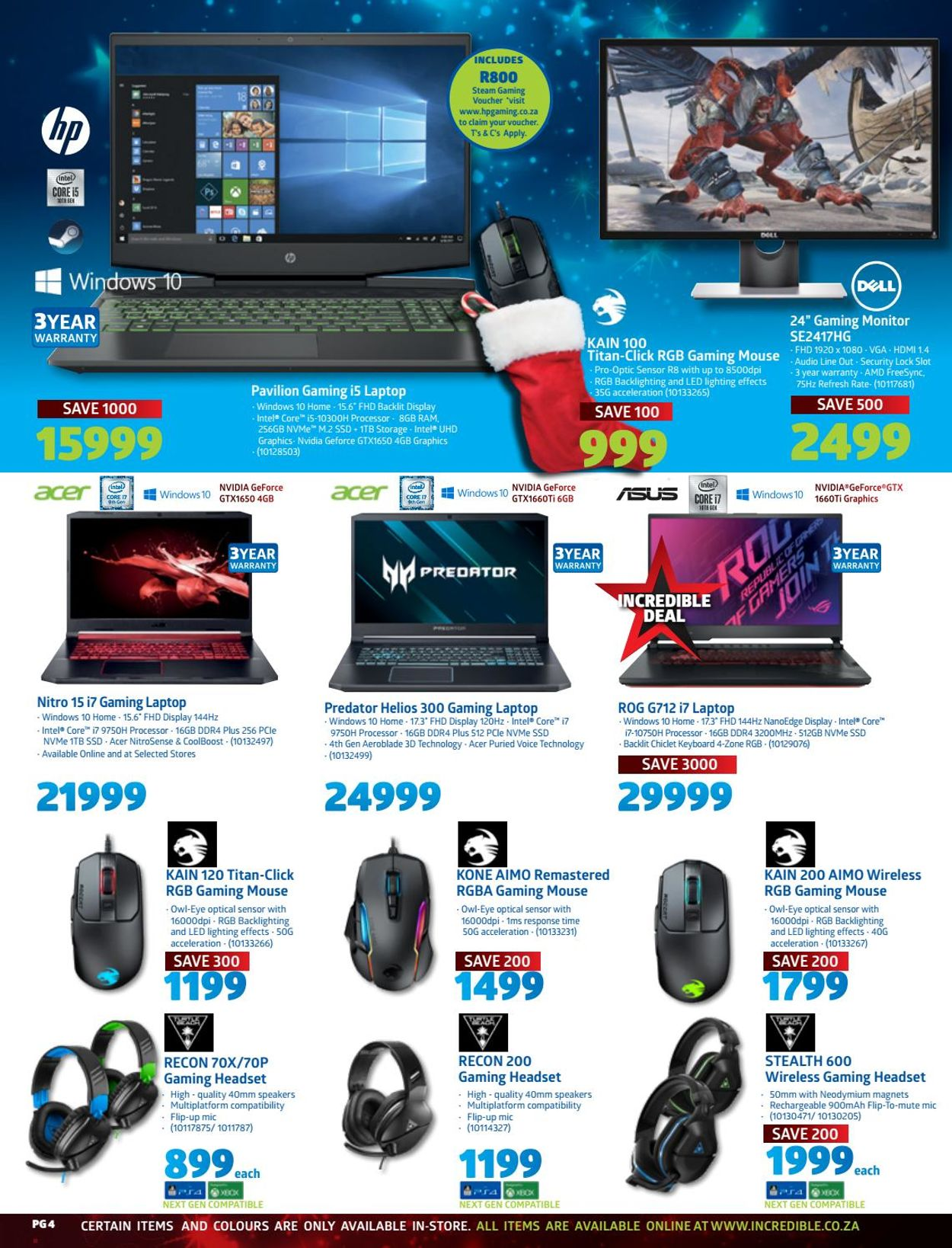 Incredible Connection Christmas 2020 Catalogue - 2020/12/02-2020/12/24 (Page 4)