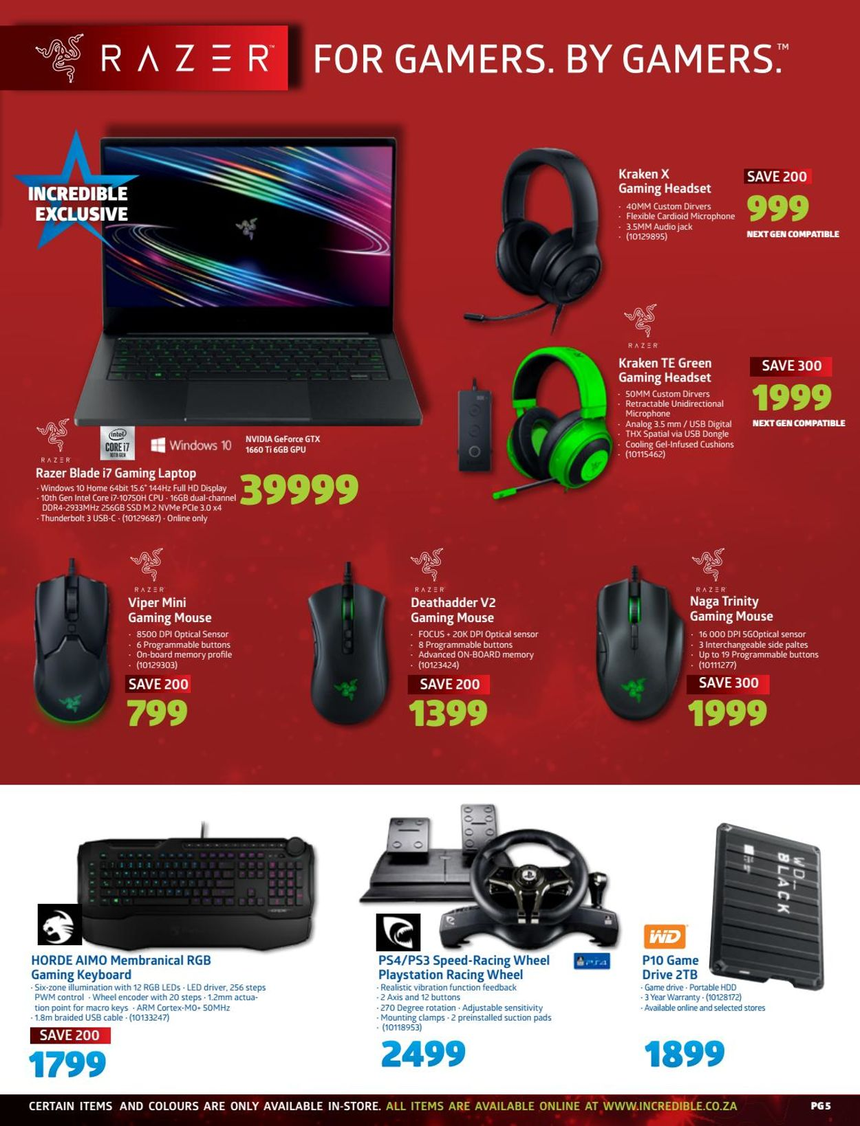 Incredible Connection Christmas 2020 Catalogue - 2020/12/02-2020/12/24 (Page 5)