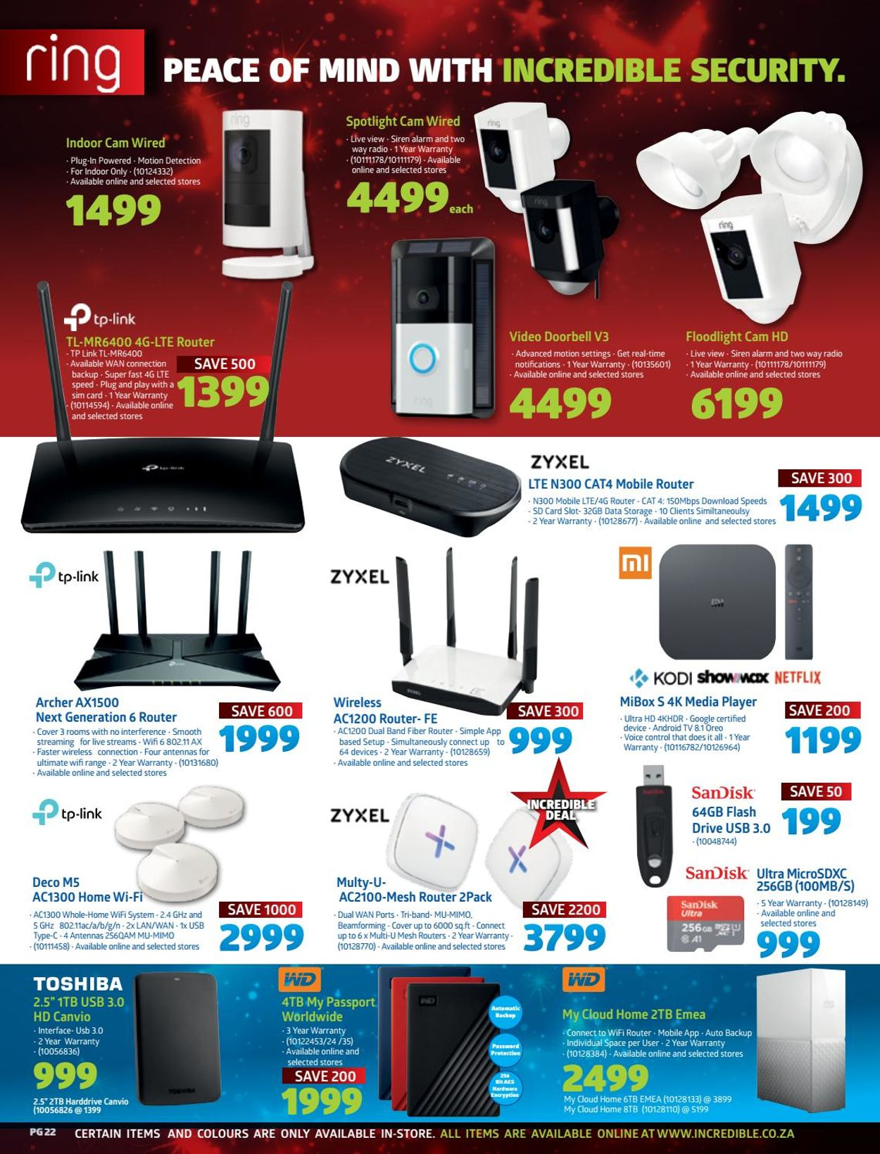 Incredible Connection Christmas 2020 Catalogue - 2020/12/02-2020/12/24 (Page 22)