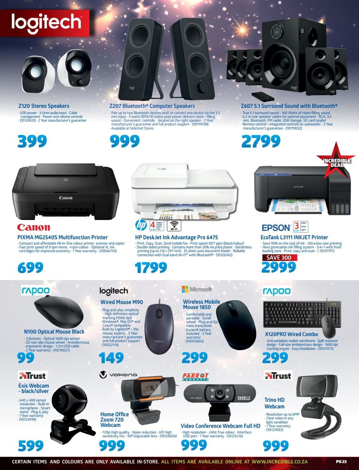 Incredible Connection Christmas 2020 Catalogue - 2020/12/02-2020/12/24 (Page 23)
