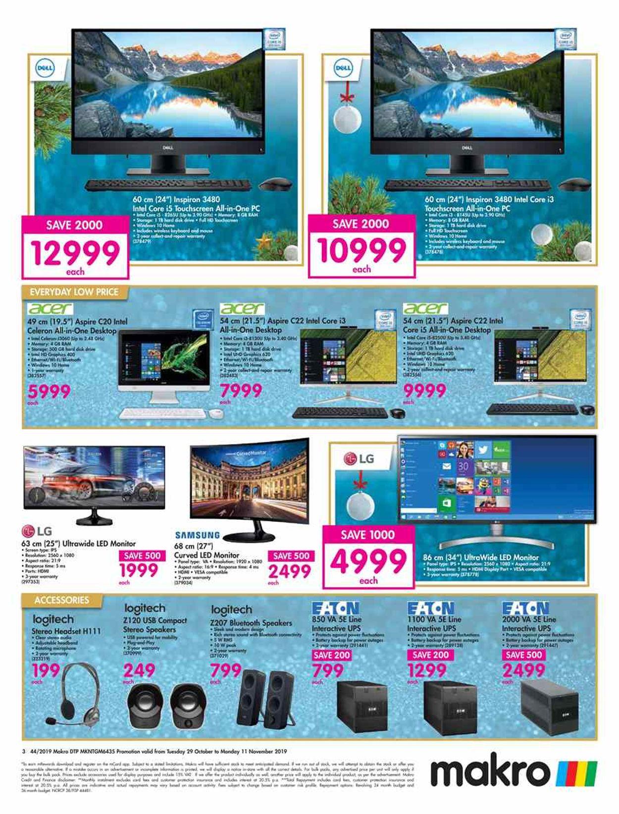 Makro Catalogue - 2019/10/29-2019/11/11 (Page 3)