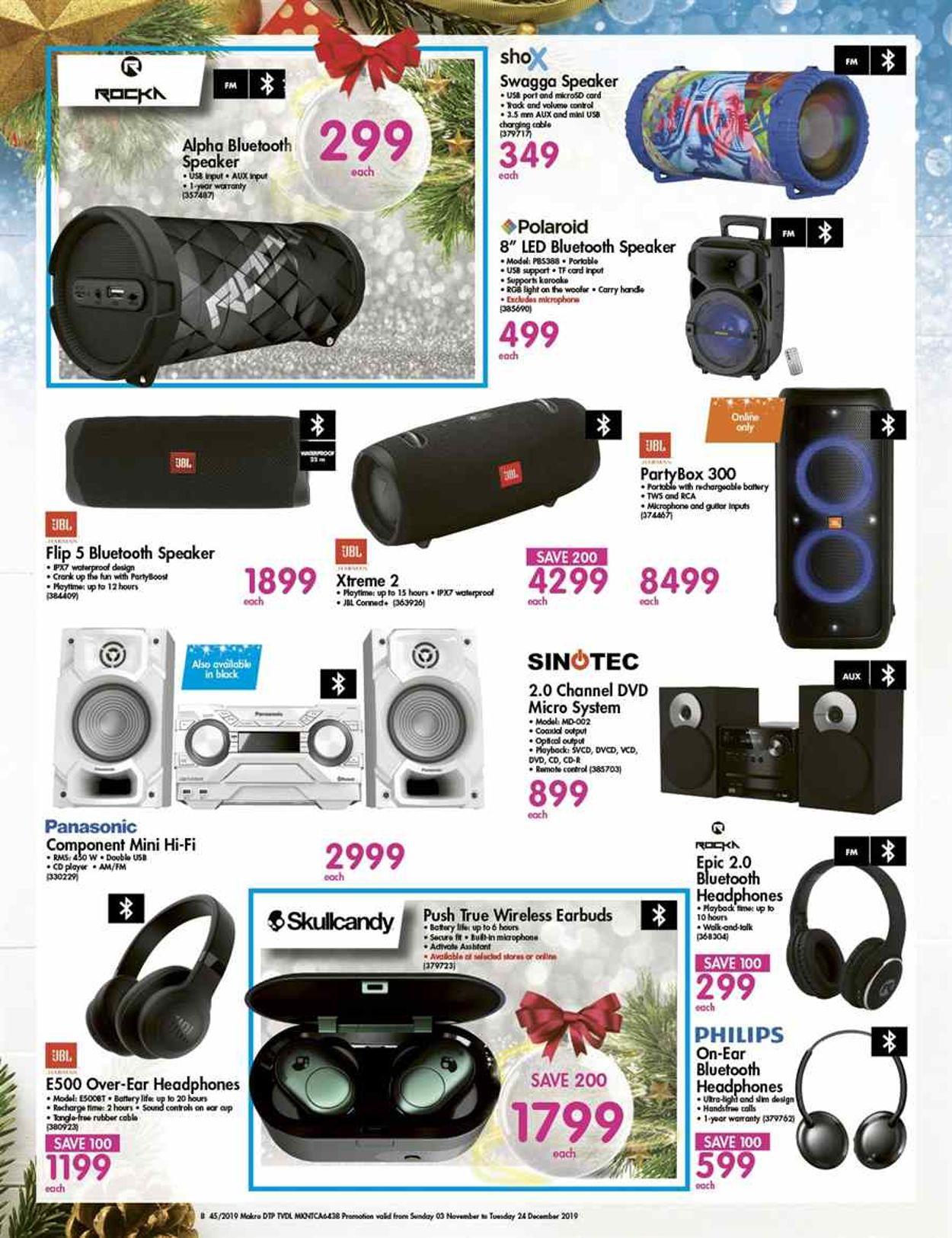 Makro Catalogue - 2019/11/03-2019/12/24 (Page 8)