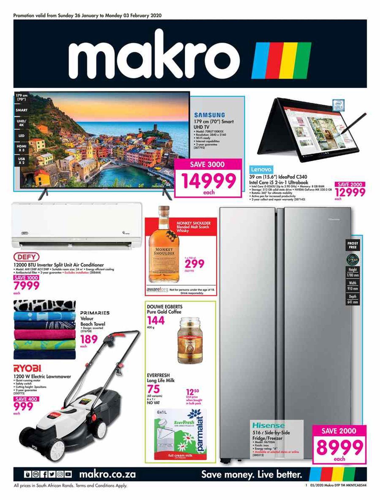 Makro Catalogue - 2020/01/26-2020/02/03