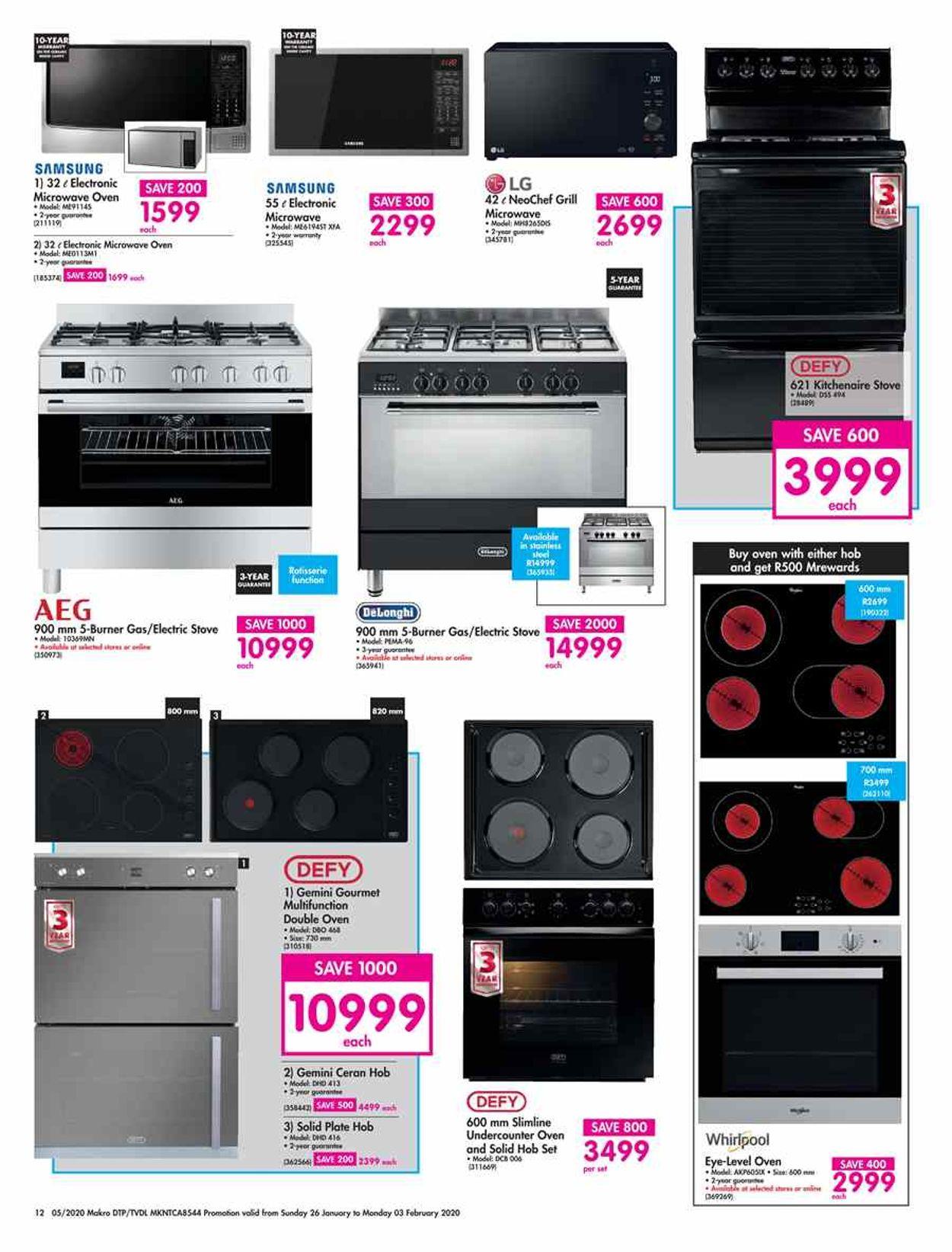 Makro Catalogue - 2020/01/26-2020/02/03 (Page 12)