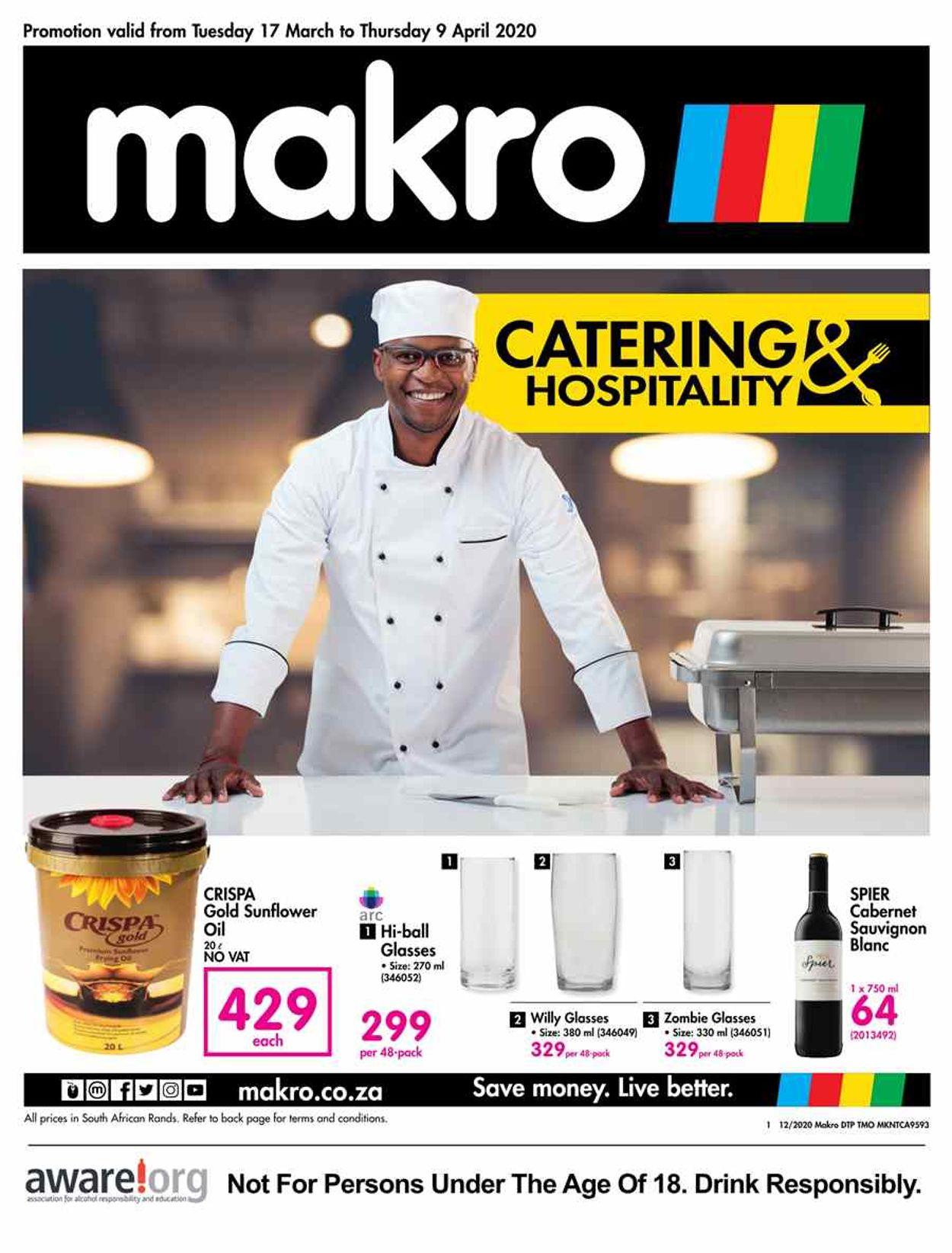 Makro Catalogue - 2020/03/17-2020/04/09