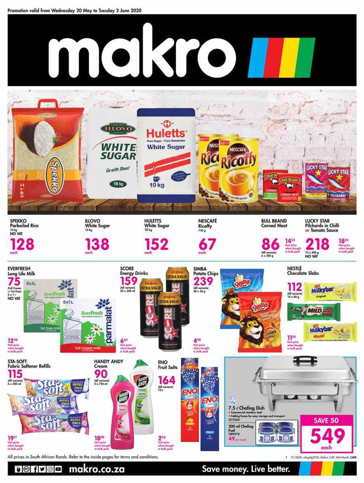 Makro Catalogue - 2020/05/20-2020/06/02
