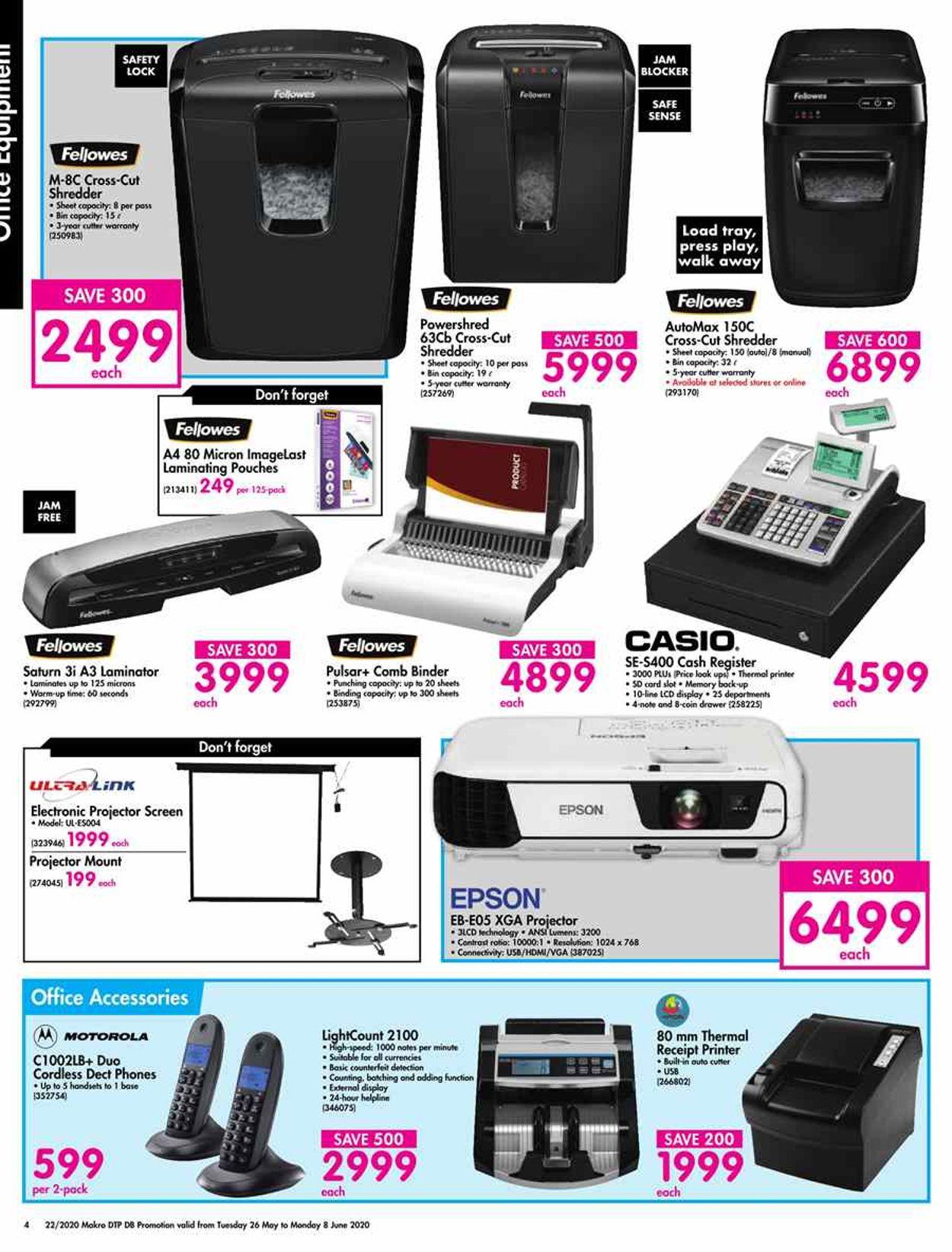 Makro Catalogue - 2020/05/26-2020/06/08 (Page 4)