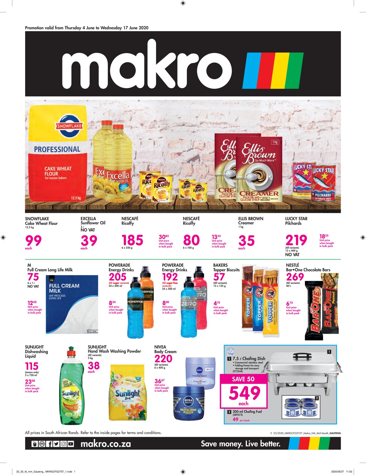Makro Catalogue - 2020/06/04-2020/06/17
