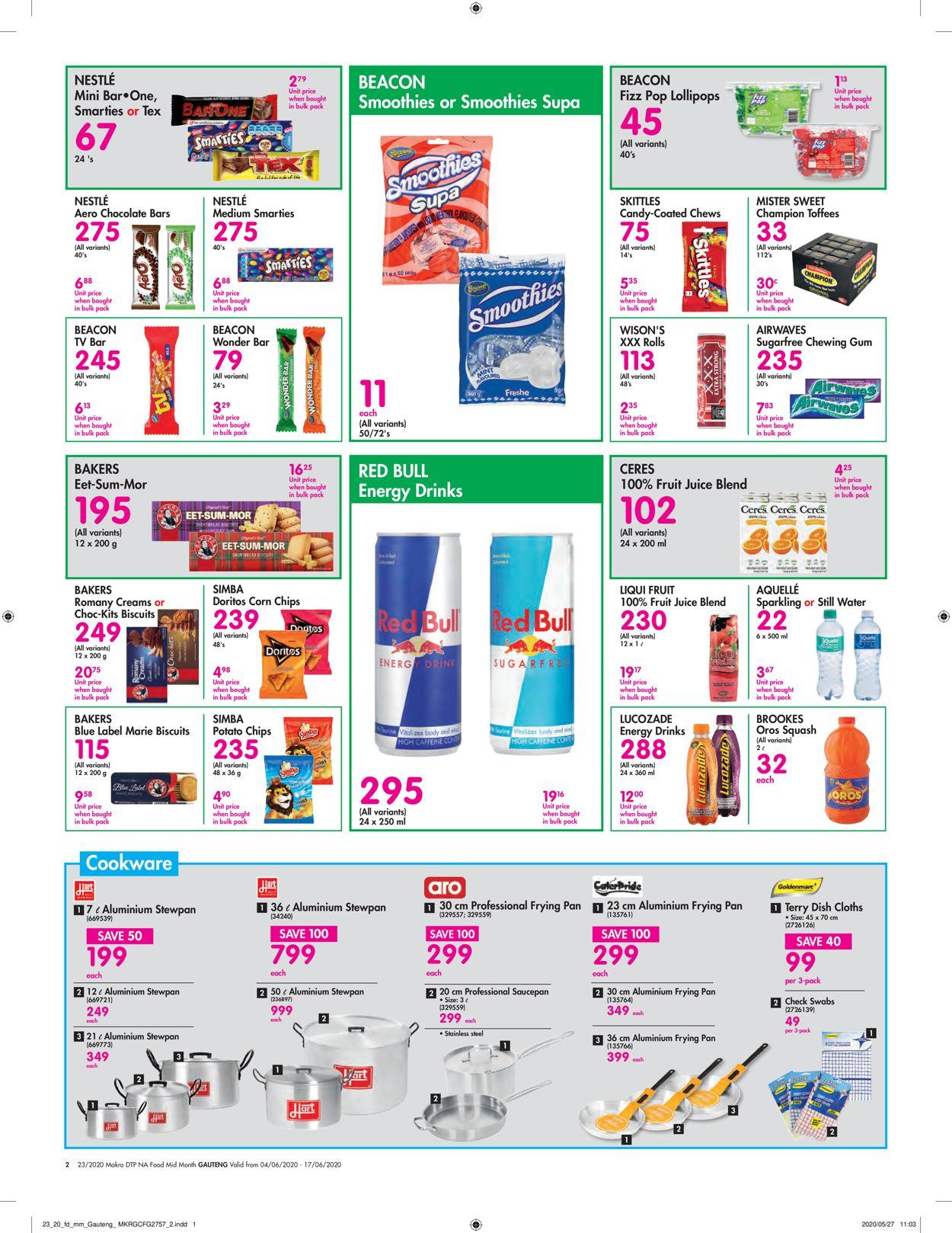 Makro Catalogue - 2020/06/04-2020/06/17 (Page 2)