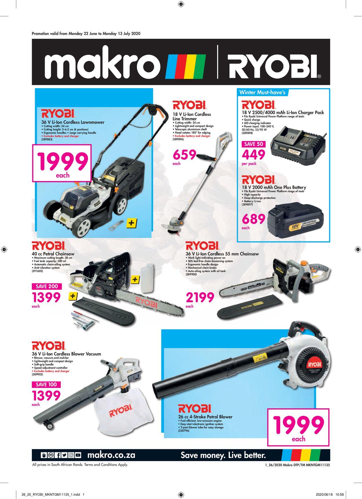 Makro Catalogue - 2020/06/22-2020/07/13