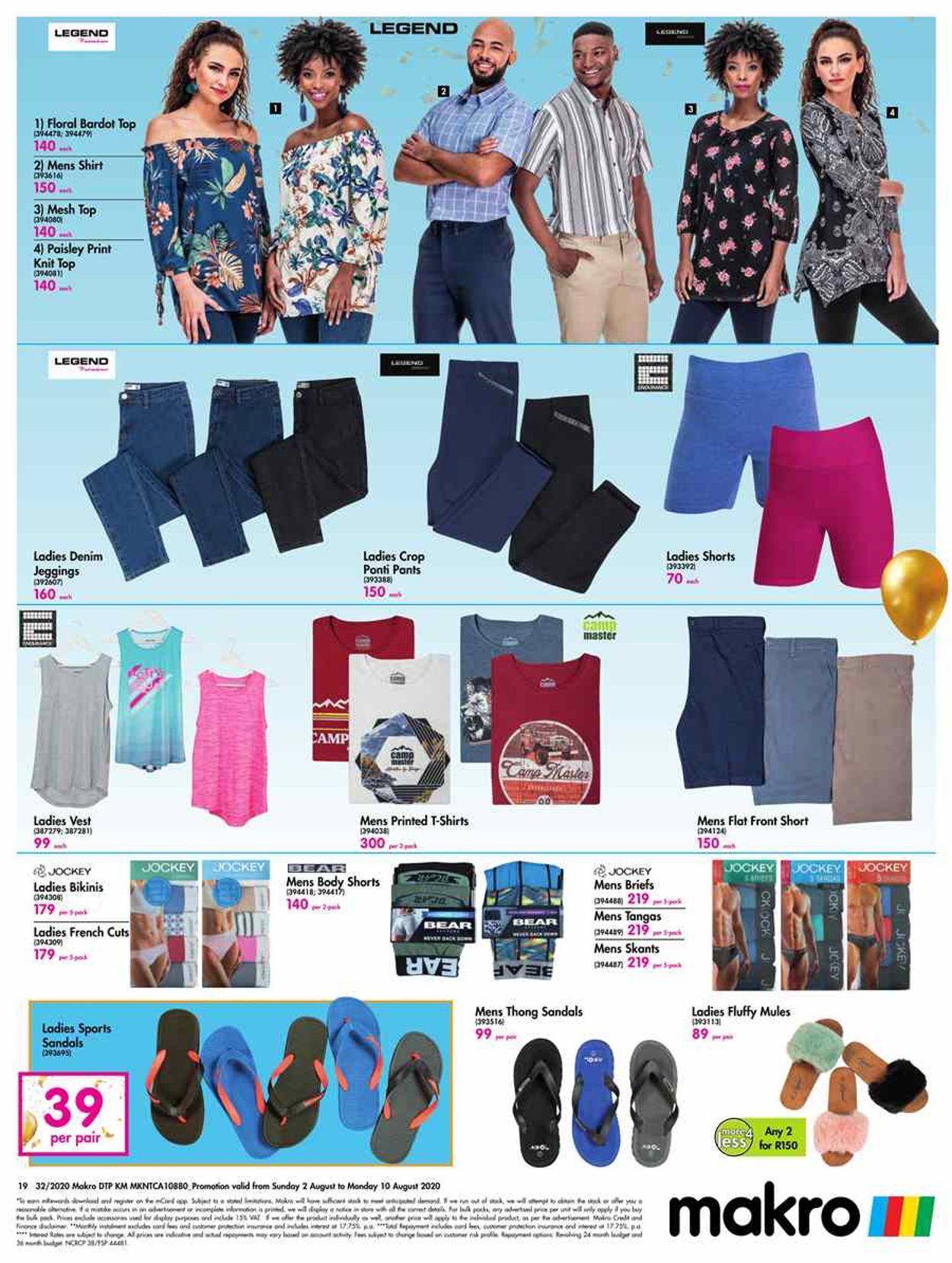 Makro Catalogue - 2020/08/02-2020/08/10 (Page 19)