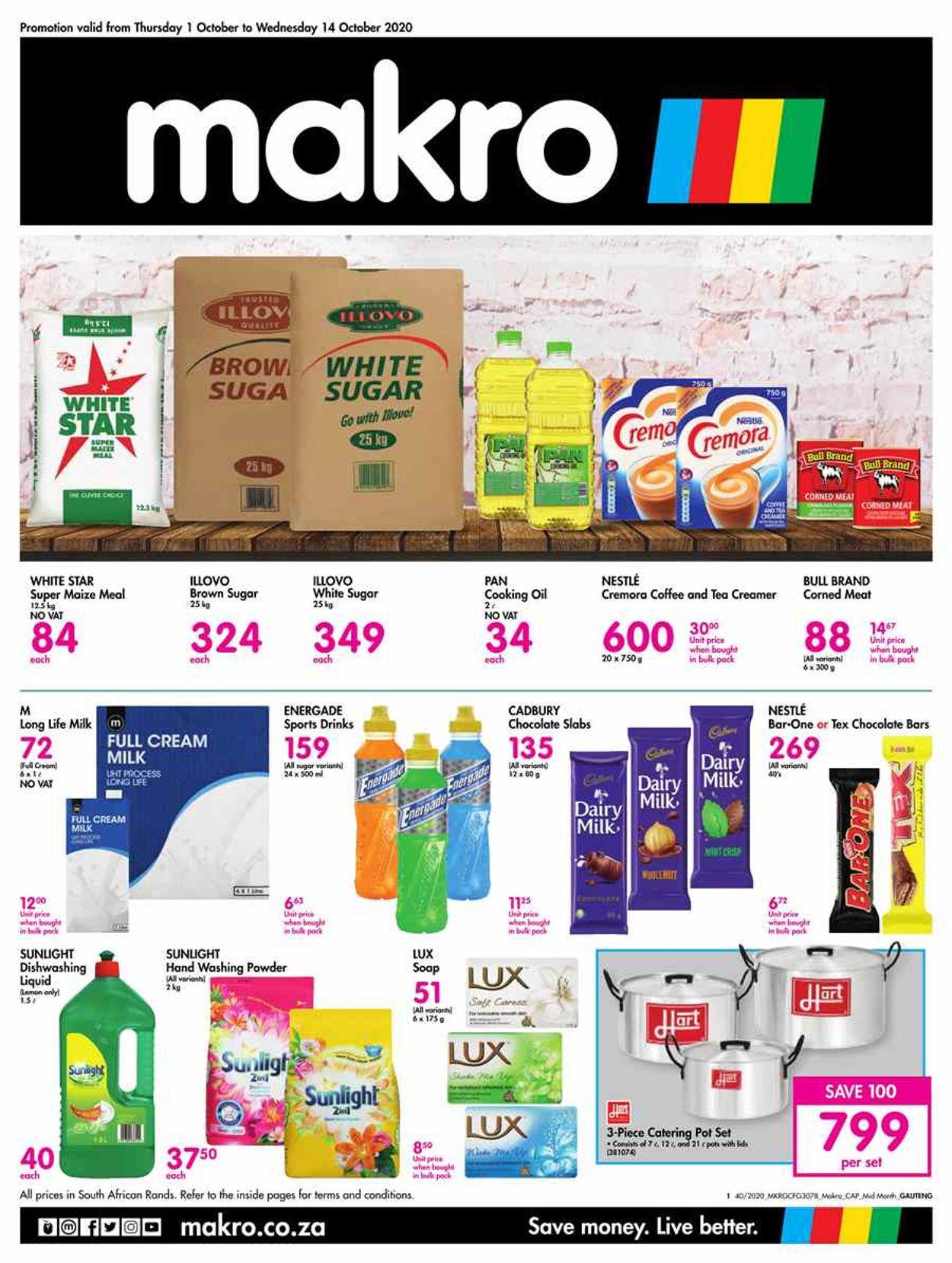 Makro Catalogue - 2020/10/01-2020/10/14