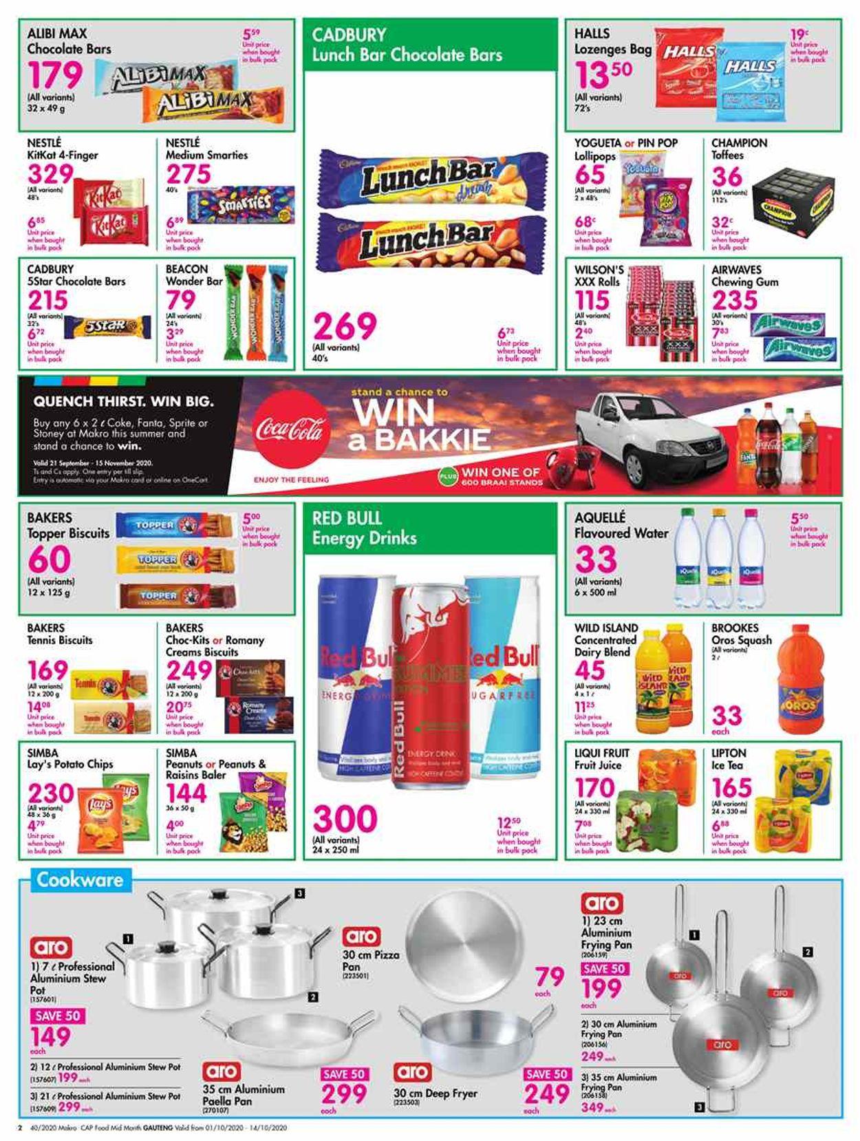 Makro Catalogue - 2020/10/01-2020/10/14 (Page 2)