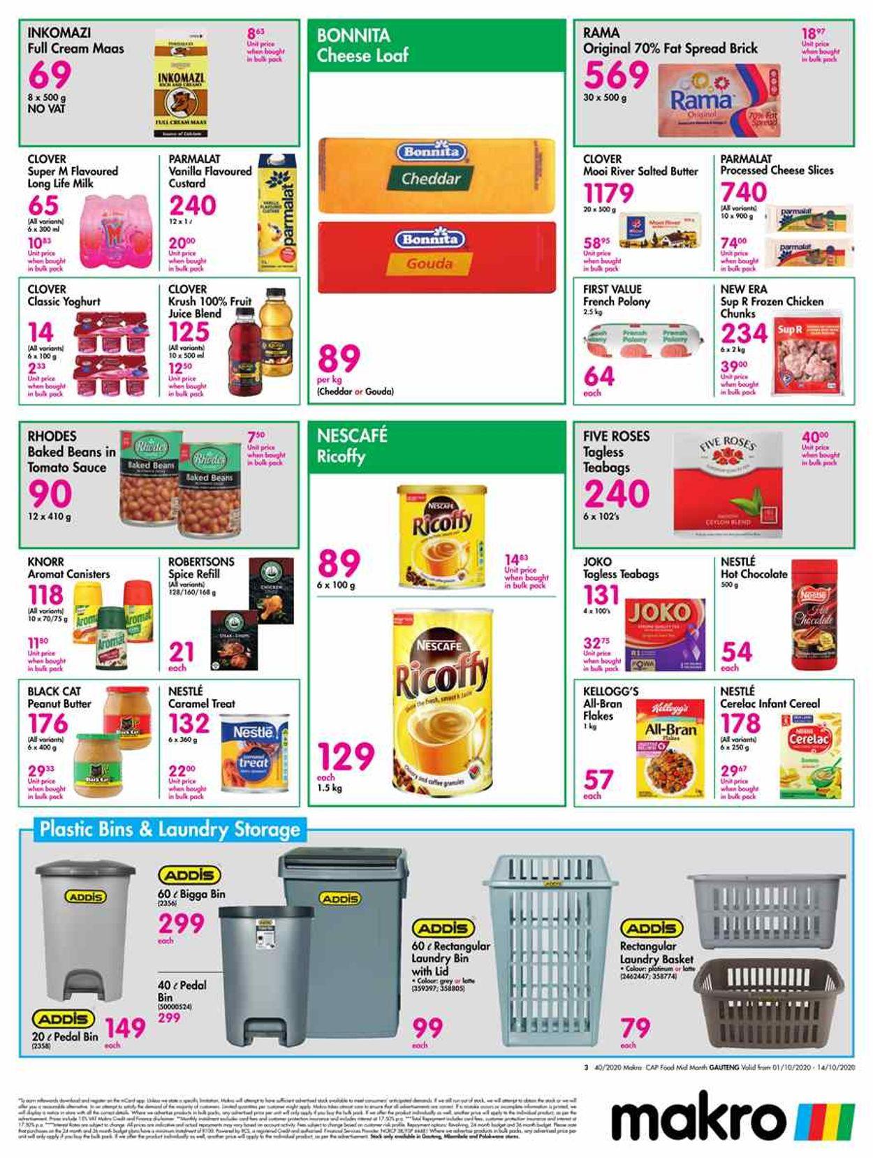 Makro Catalogue - 2020/10/01-2020/10/14 (Page 3)
