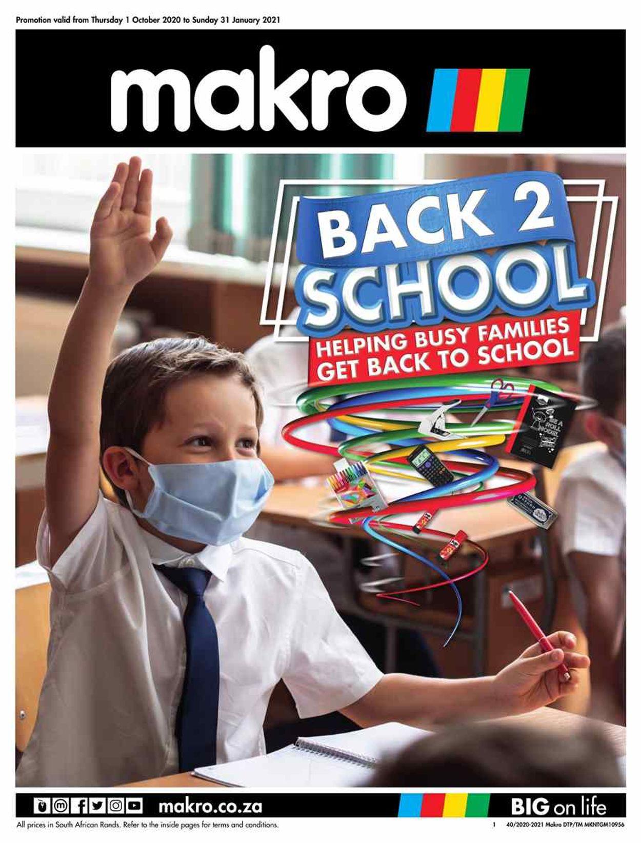 Makro Catalogue - 2020/10/01-2021/01/31