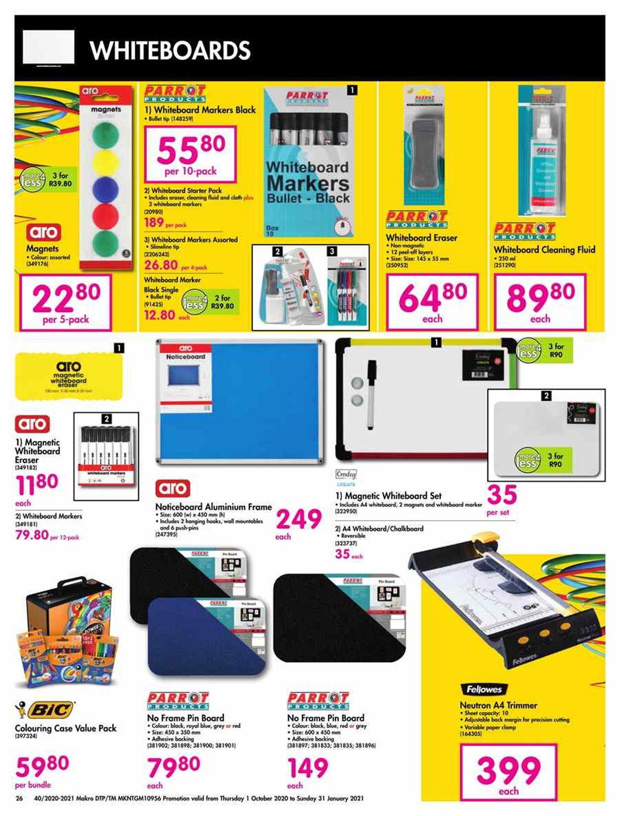 Makro Catalogue - 2020/10/01-2021/01/31 (Page 26)