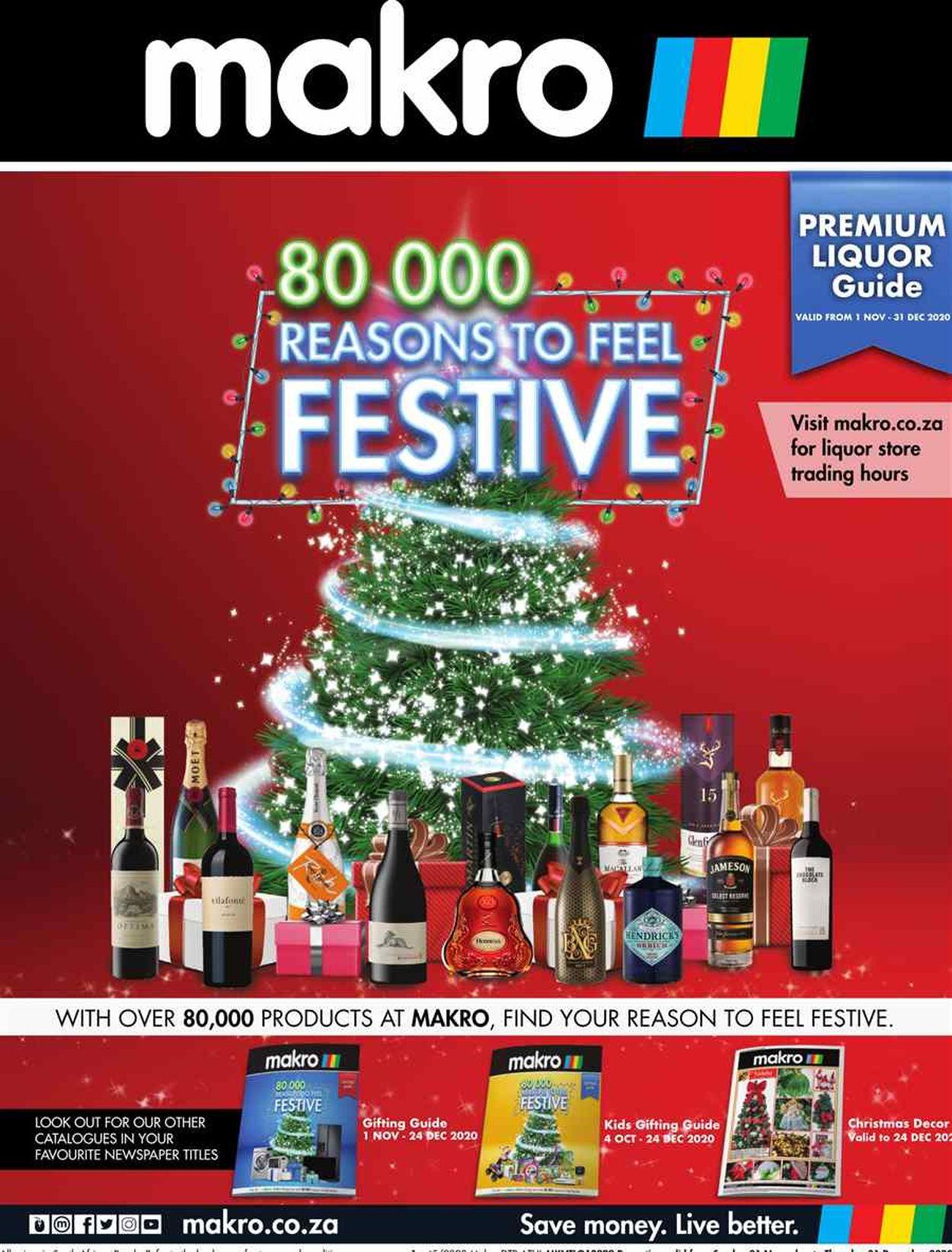 Makro Holidays 2020 Catalogue - 2020/11/01-2020/12/24