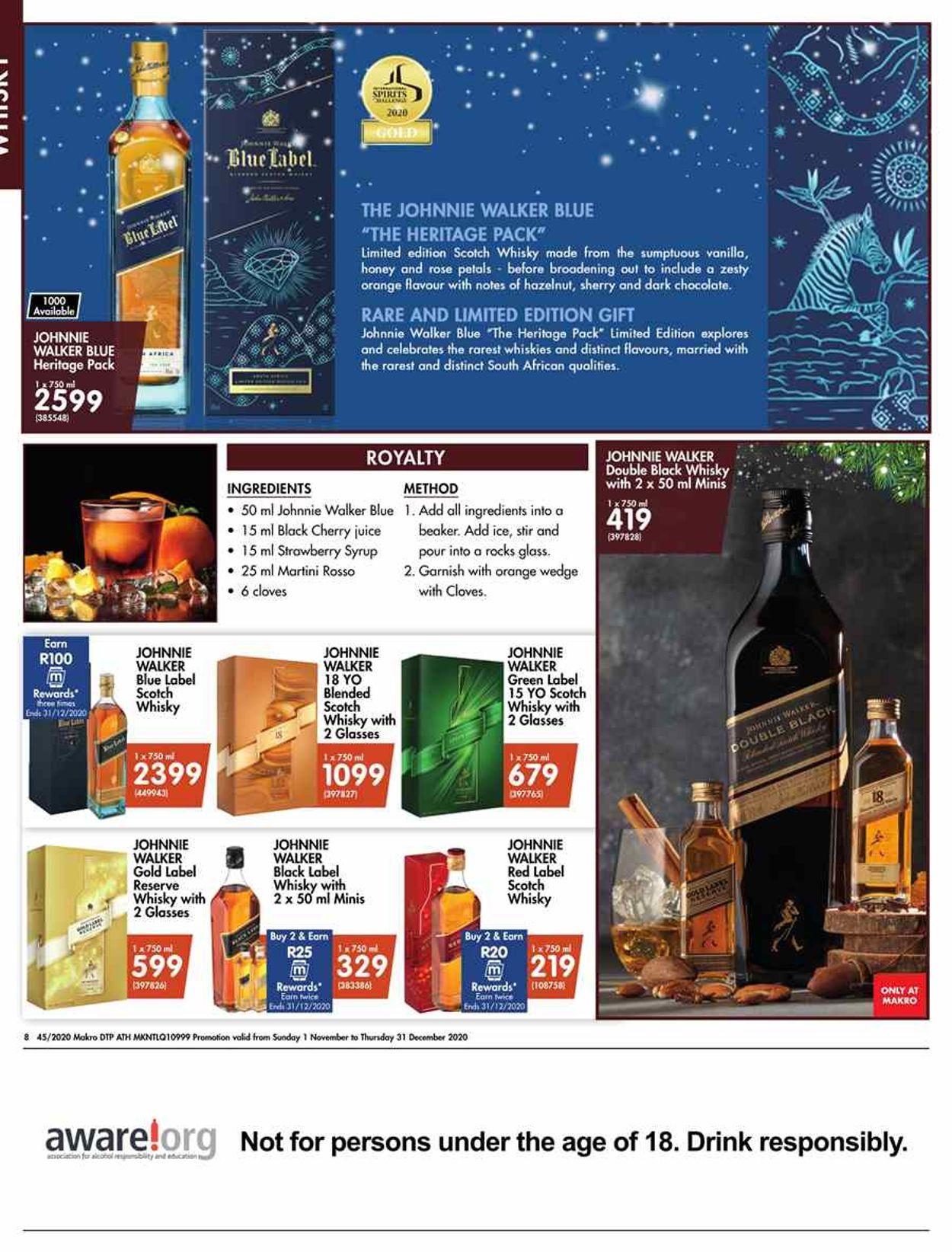 Makro Holidays 2020 Catalogue - 2020/11/01-2020/12/24 (Page 8)