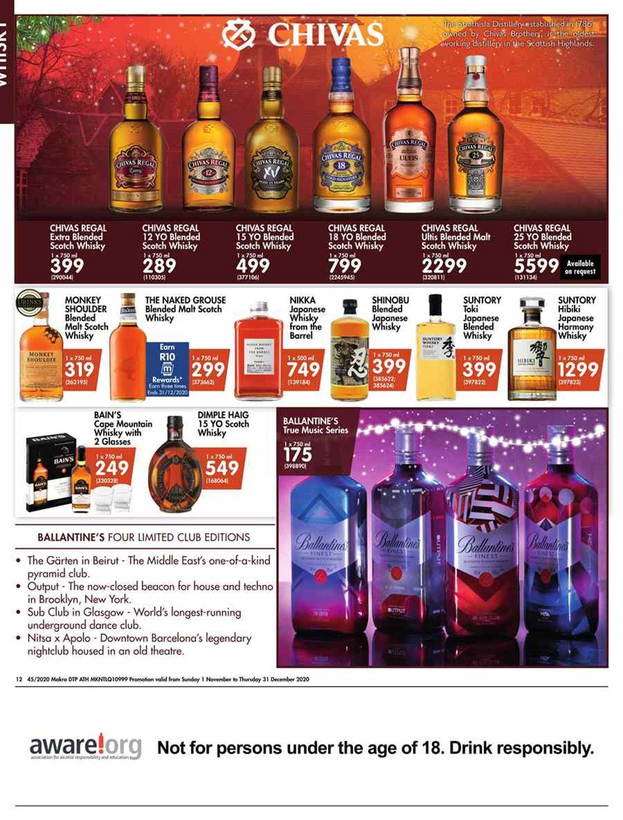 Makro Holidays 2020 Catalogue - 2020/11/01-2020/12/24 (Page 12)