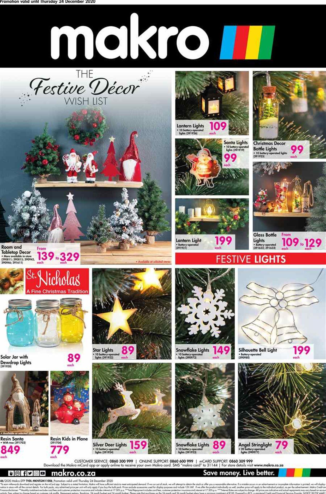 Makro Holidays 2020 Catalogue - 2020/11/08-2020/12/24