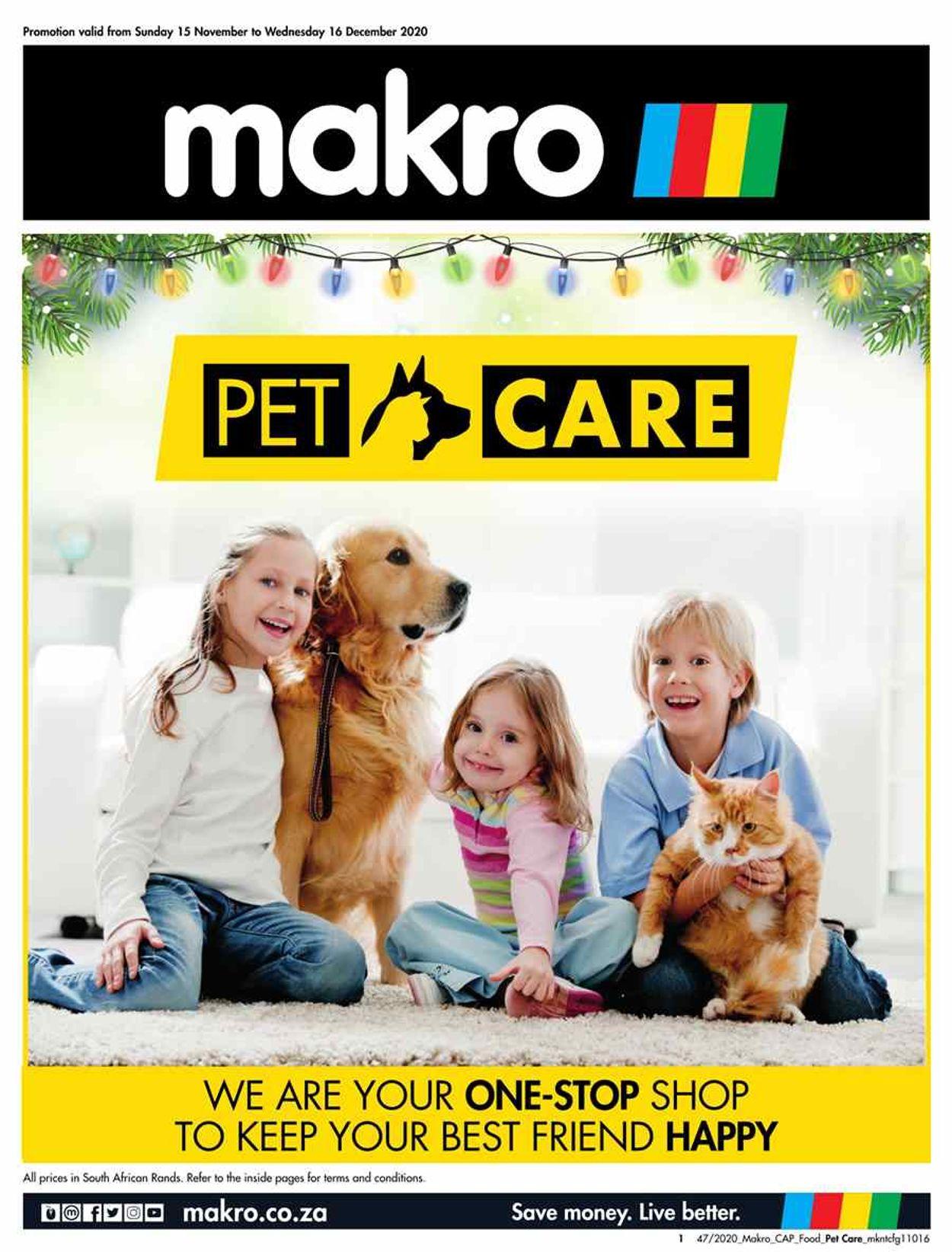Makro Holidays 2020 Catalogue - 2020/11/15-2020/12/16
