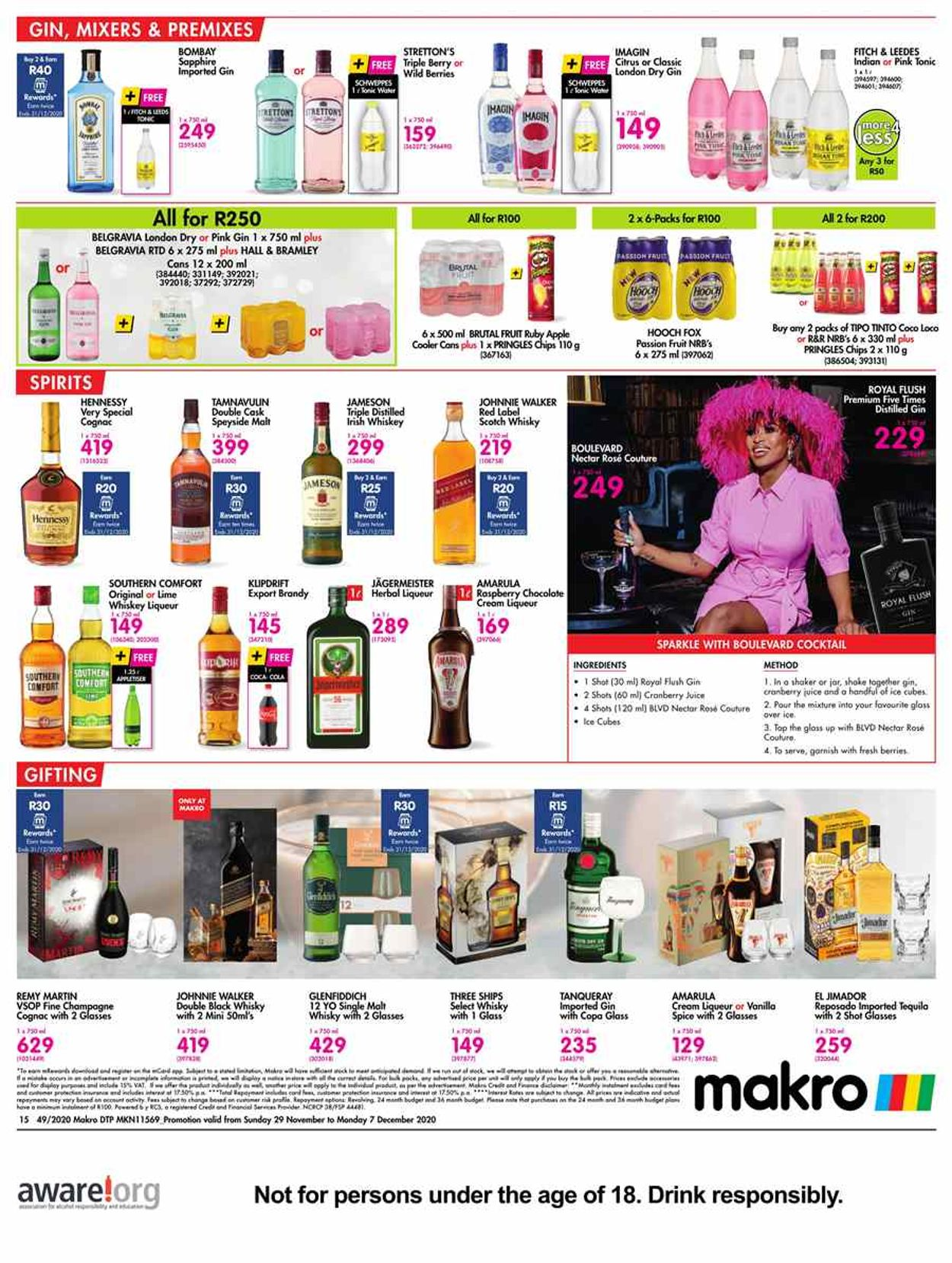 Makro Xmas 2020 Catalogue - 2020/11/29-2020/12/07 (Page 15)