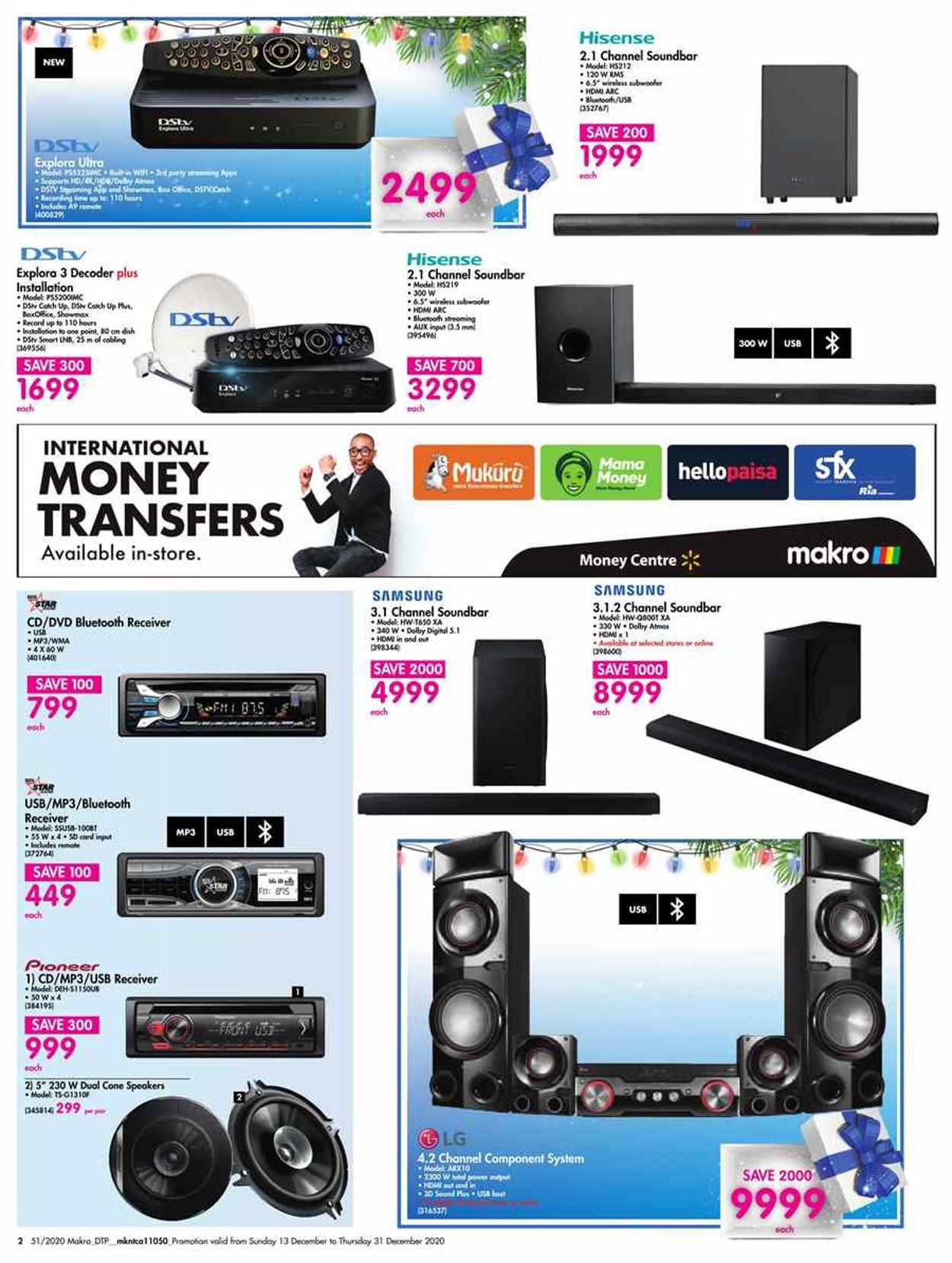 Makro Christmas Savings 2020 Catalogue - 2020/12/13-2020/12/31 (Page 2)