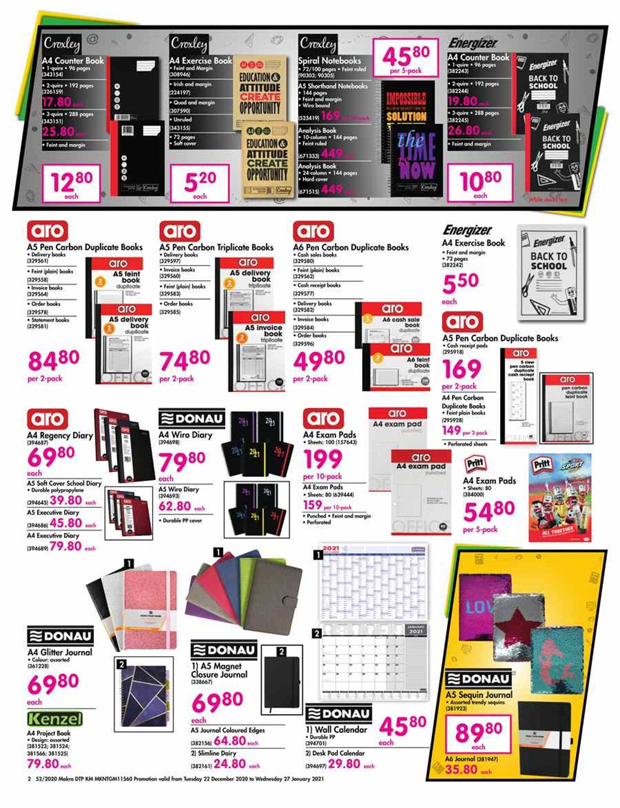 Makro Back to School 2020/2021 Catalogue - 2020/12/22-2021/01/27 (Page 2)