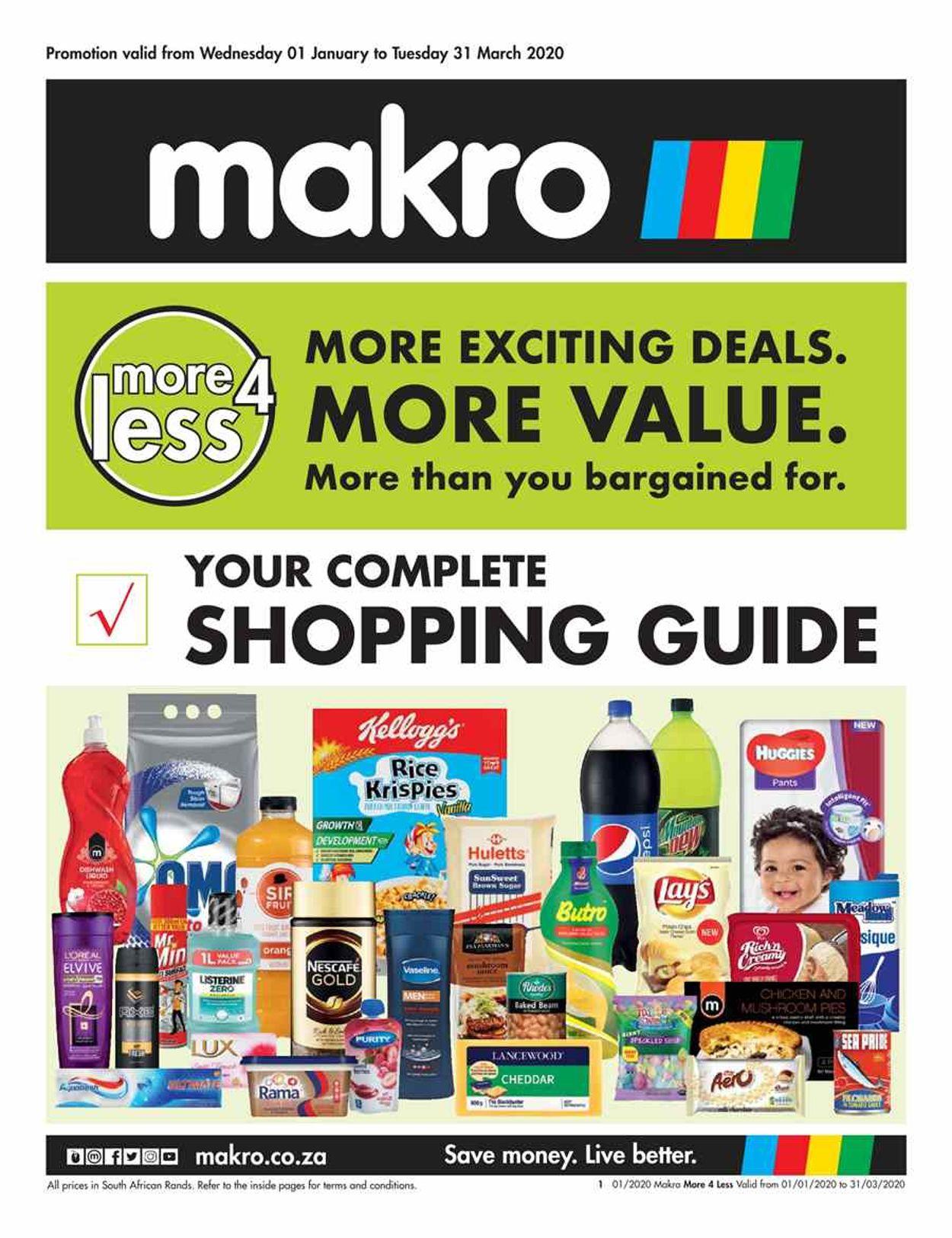 Makro Catalogue - 2021/01/01-2021/03/31