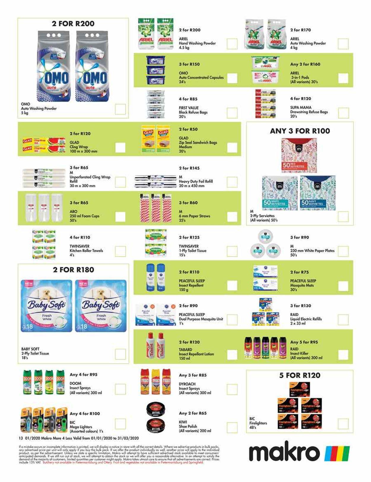 Makro Catalogue - 2021/01/01-2021/03/31 (Page 13)