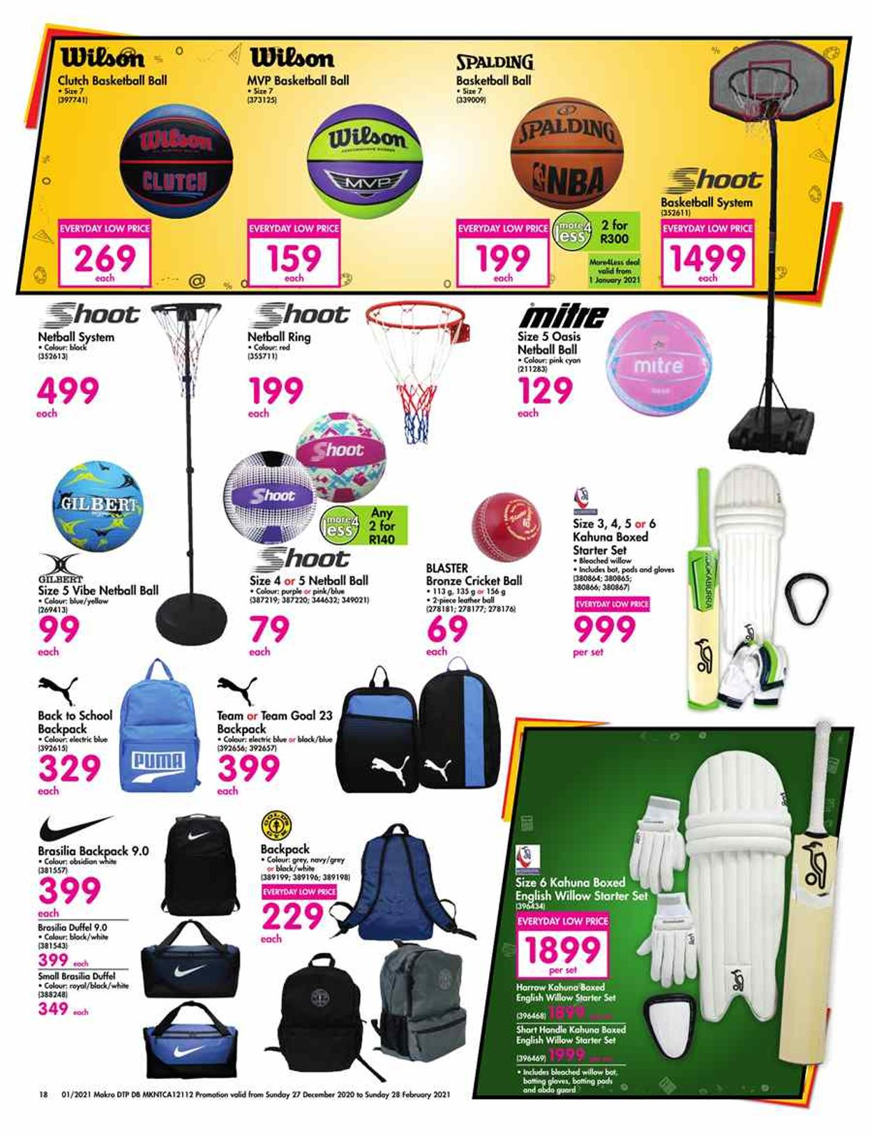 Makro Back To School 2021 Catalogue - 2020/12/27-2021/02/28 (Page 18)