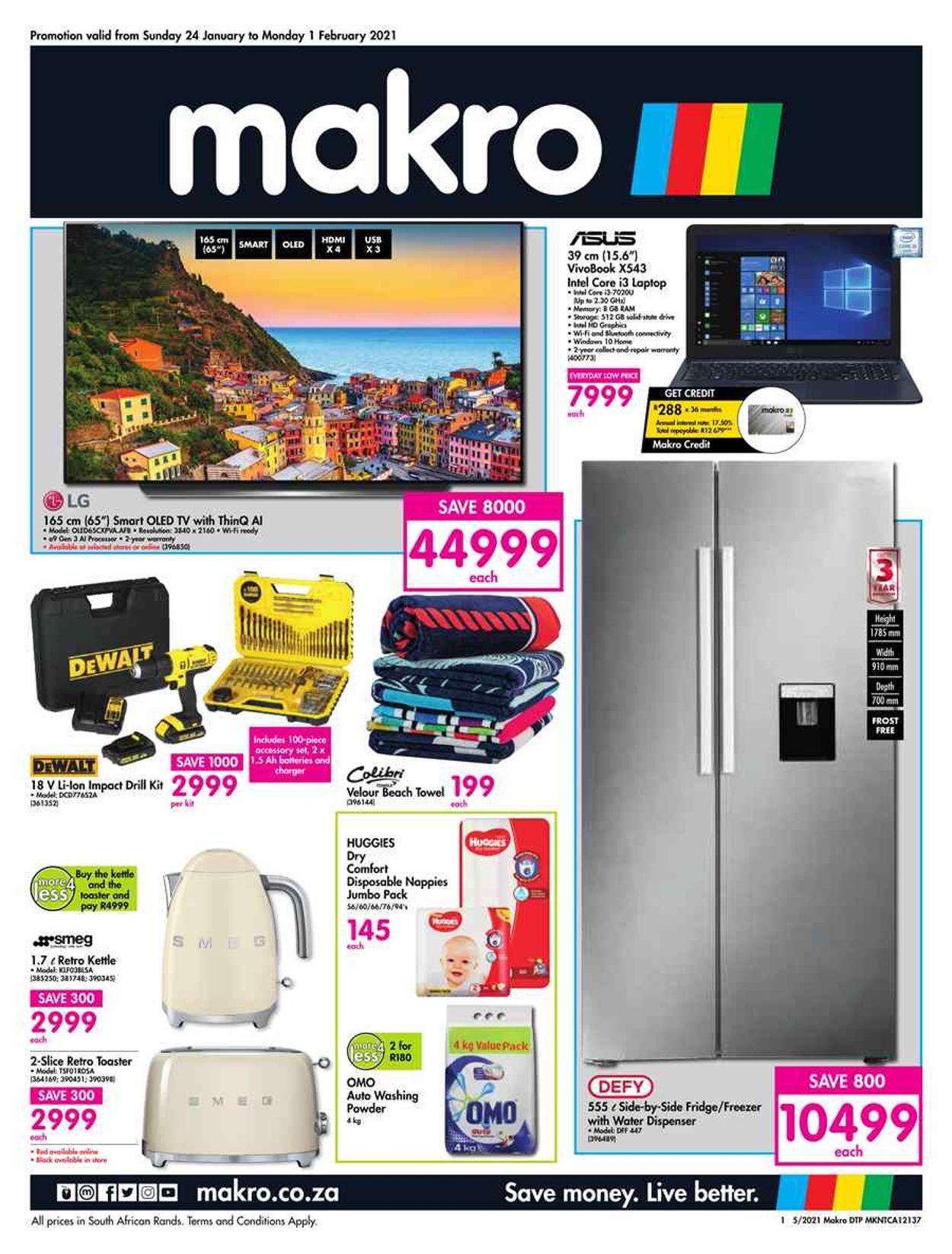 Makro Catalogue - 2021/01/24-2021/02/01