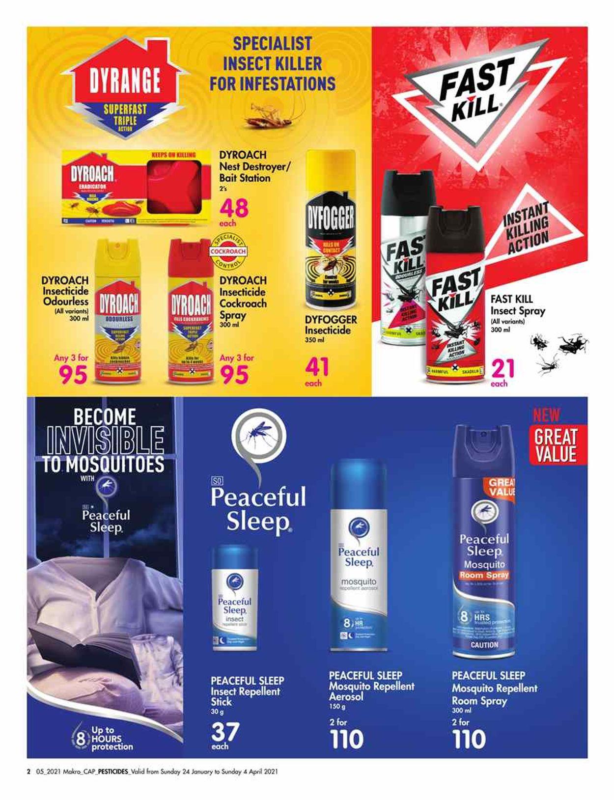 Makro Pest Control 2021 Catalogue - 2021/01/24-2021/04/04 (Page 2)