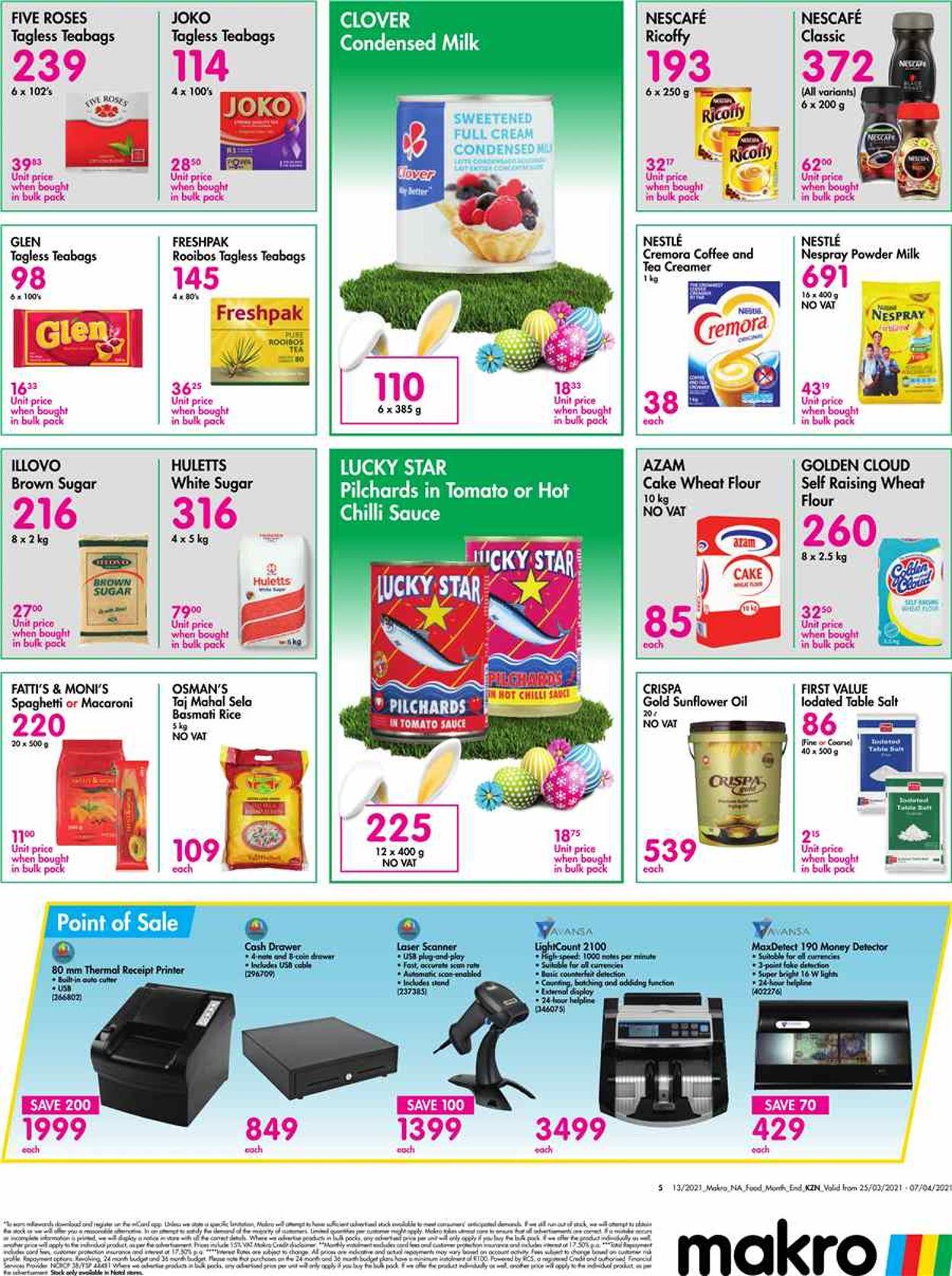 Makro Catalogue - 2021/03/25-2021/04/07 (Page 5)