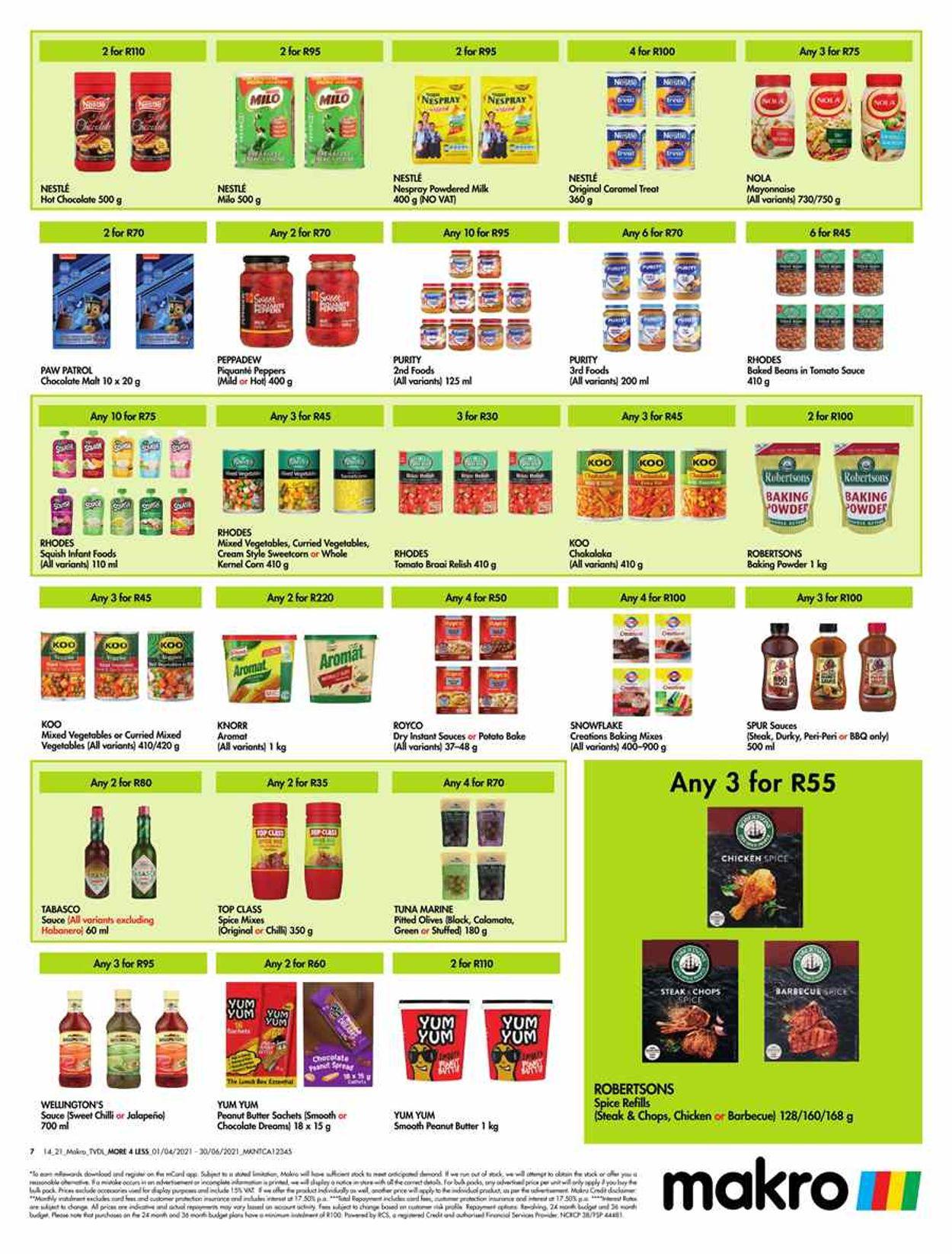 Makro Catalogue - 2021/04/01-2021/06/30 (Page 7)