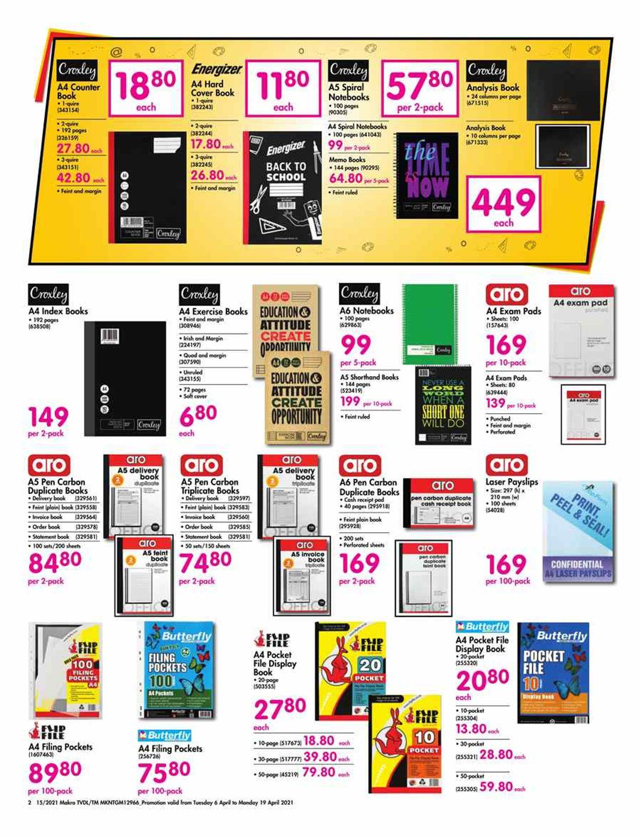 Makro Catalogue - 2021/04/06-2021/04/19 (Page 2)