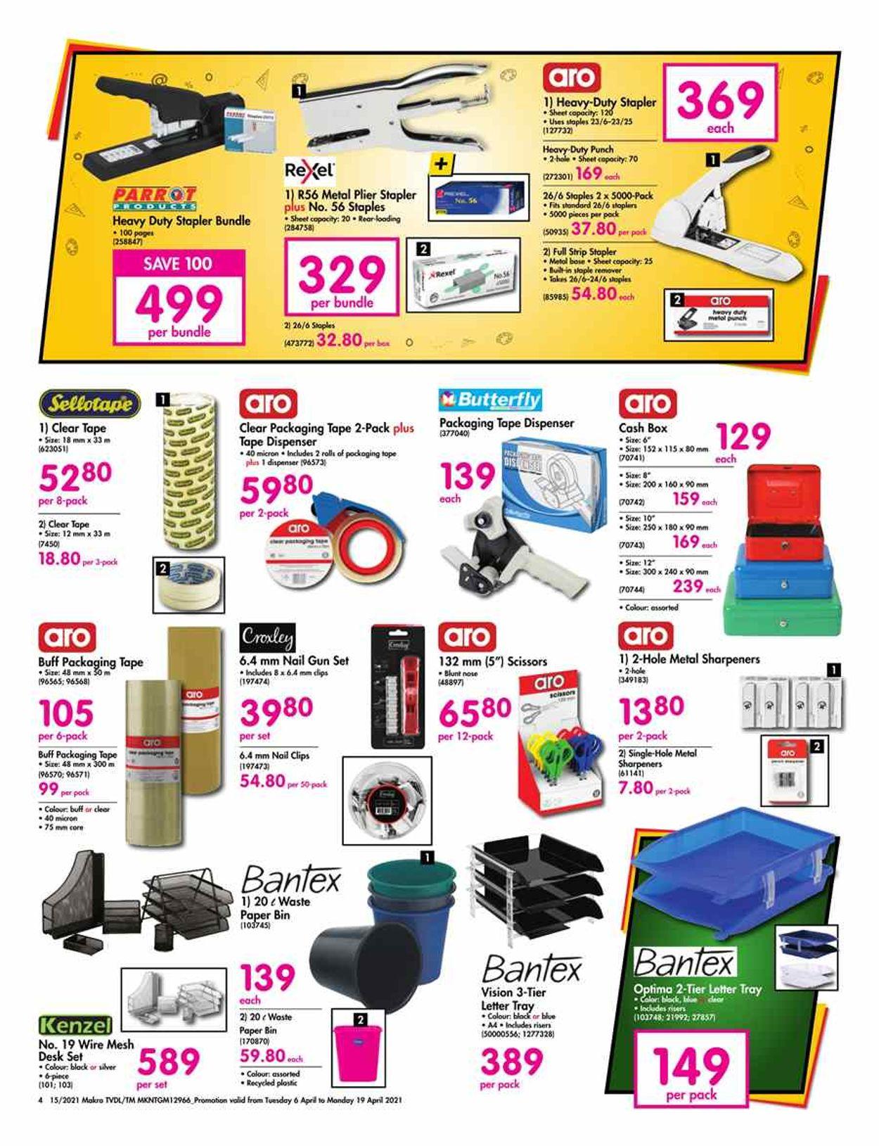 Makro Catalogue - 2021/04/06-2021/04/19 (Page 4)