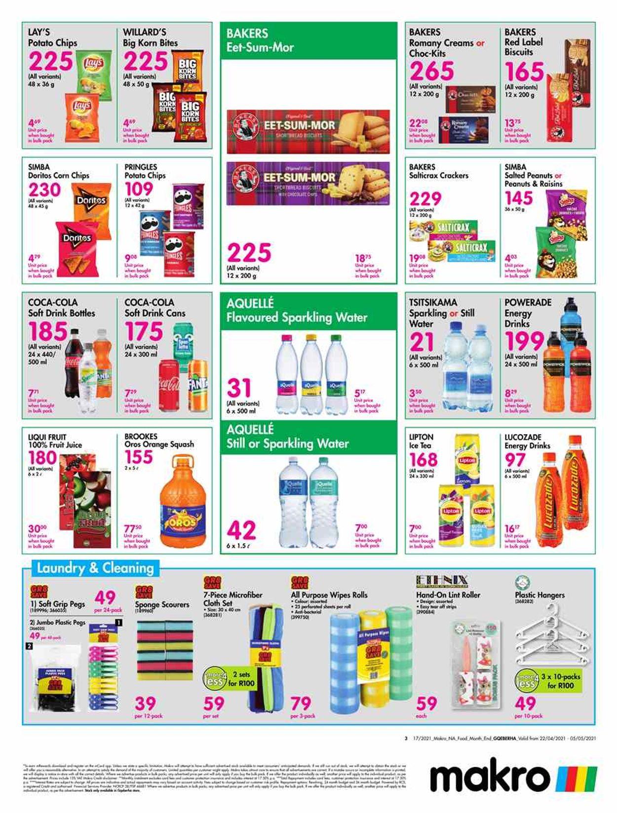 Makro Catalogue - 2021/04/22-2021/05/05 (Page 3)